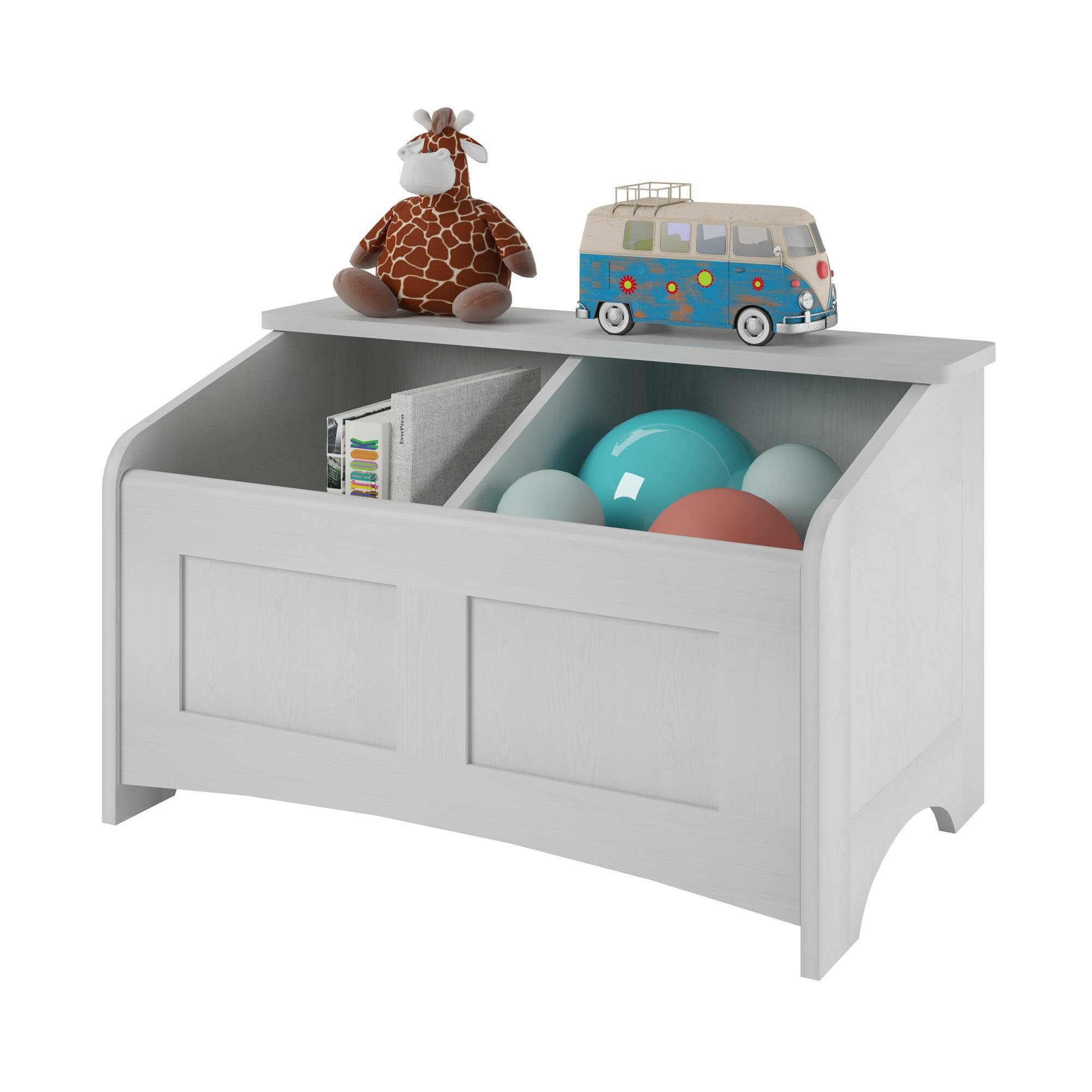 altra toy box with section divider reviews