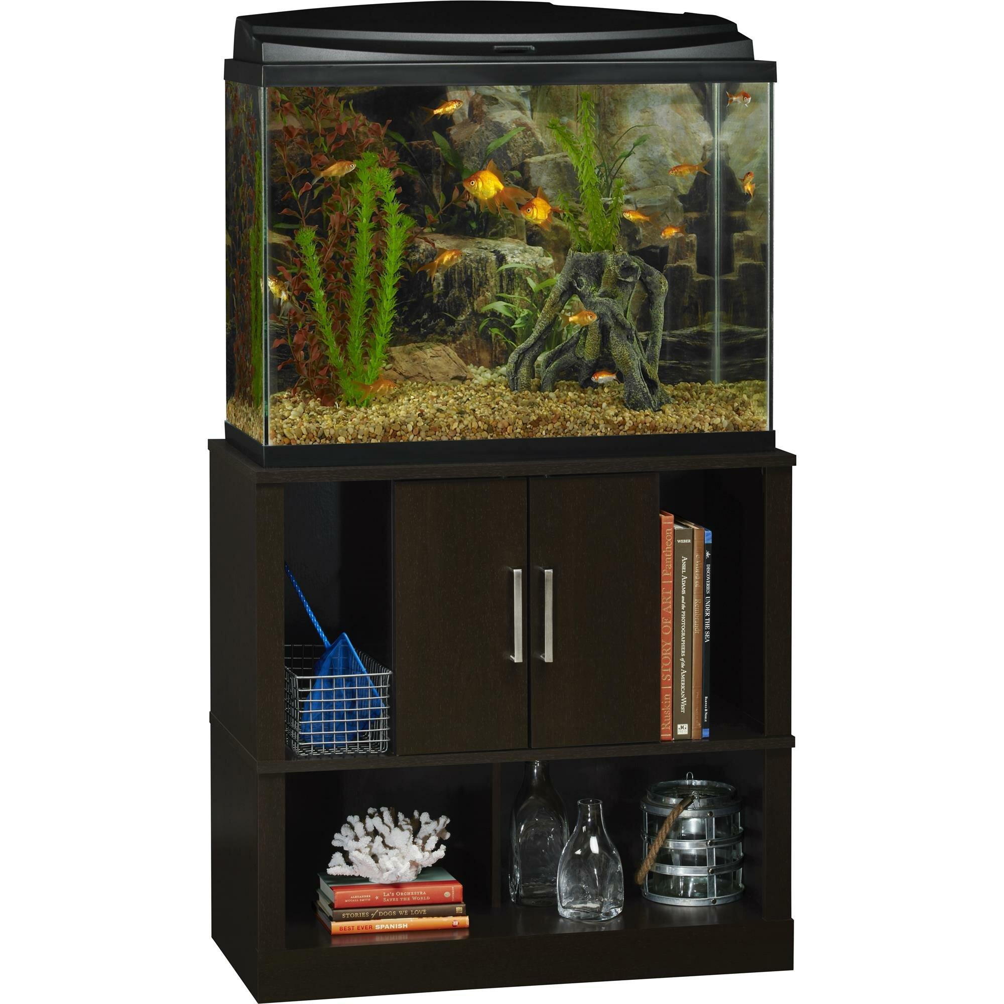 Altra laguna tide 37 gallon aquarium stand reviews wayfair for 37 gallon fish tank