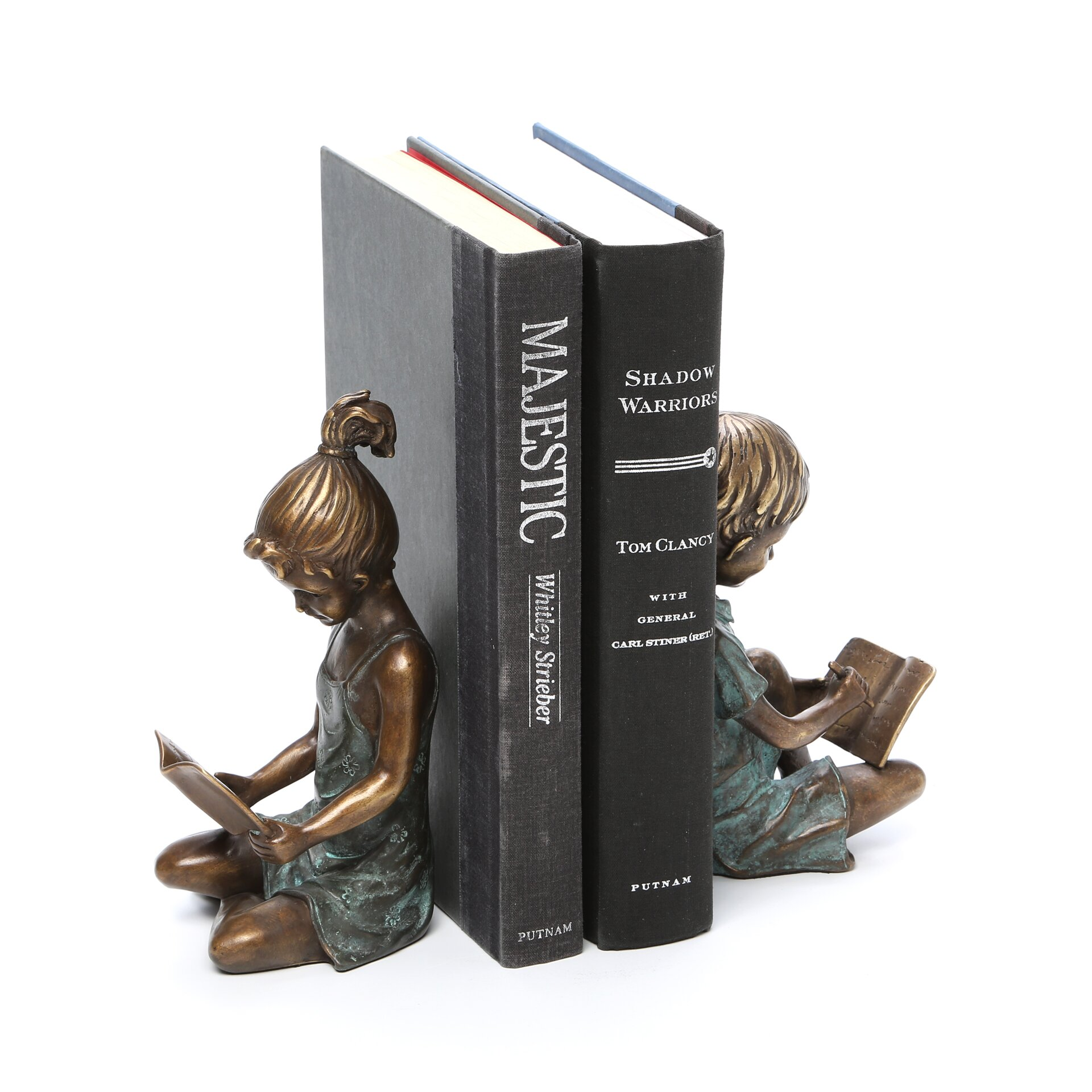 Bookends: SPI Home Boy And Girl Book Ends & Reviews