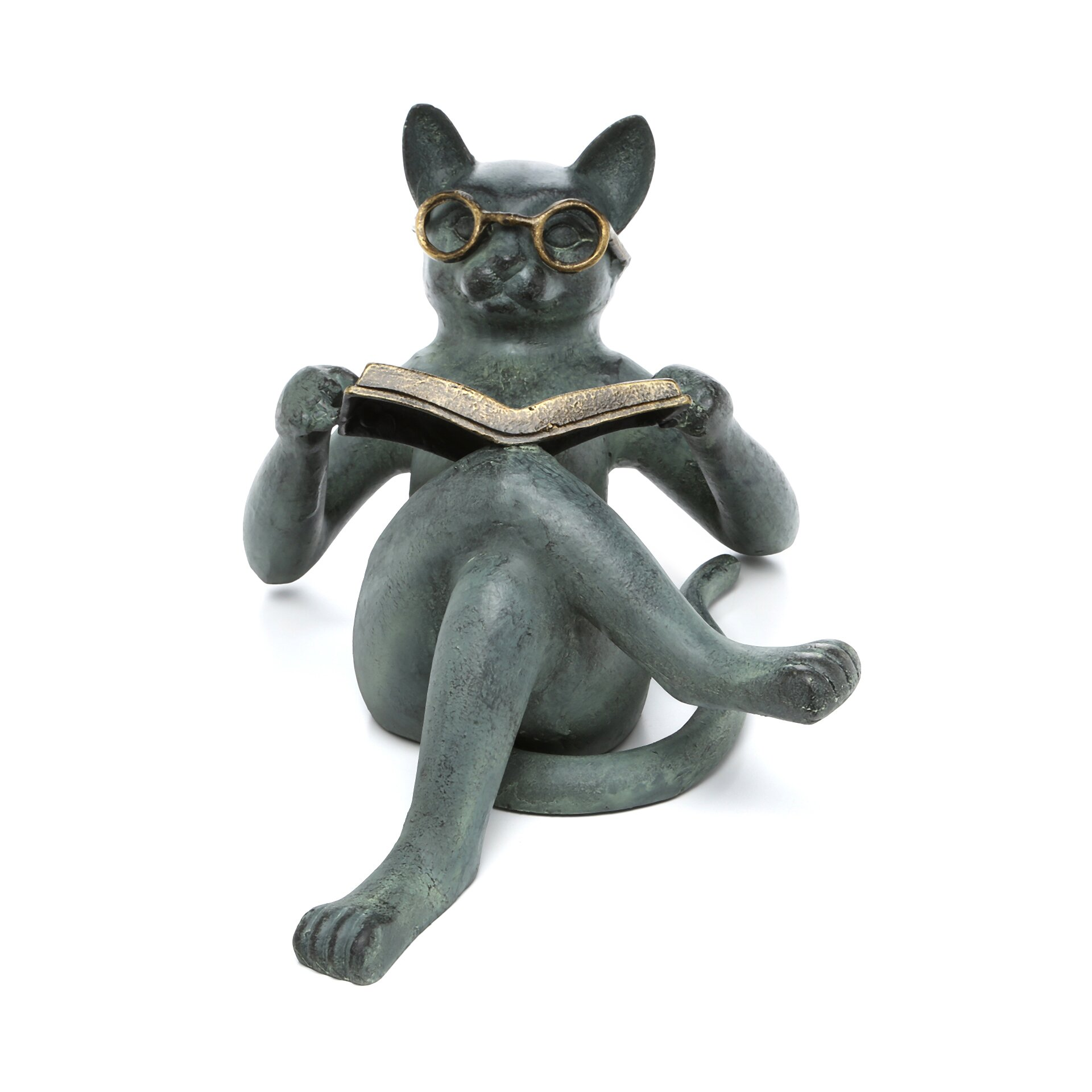 Spi Home Literary Cat Garden Statue Amp Reviews Wayfair