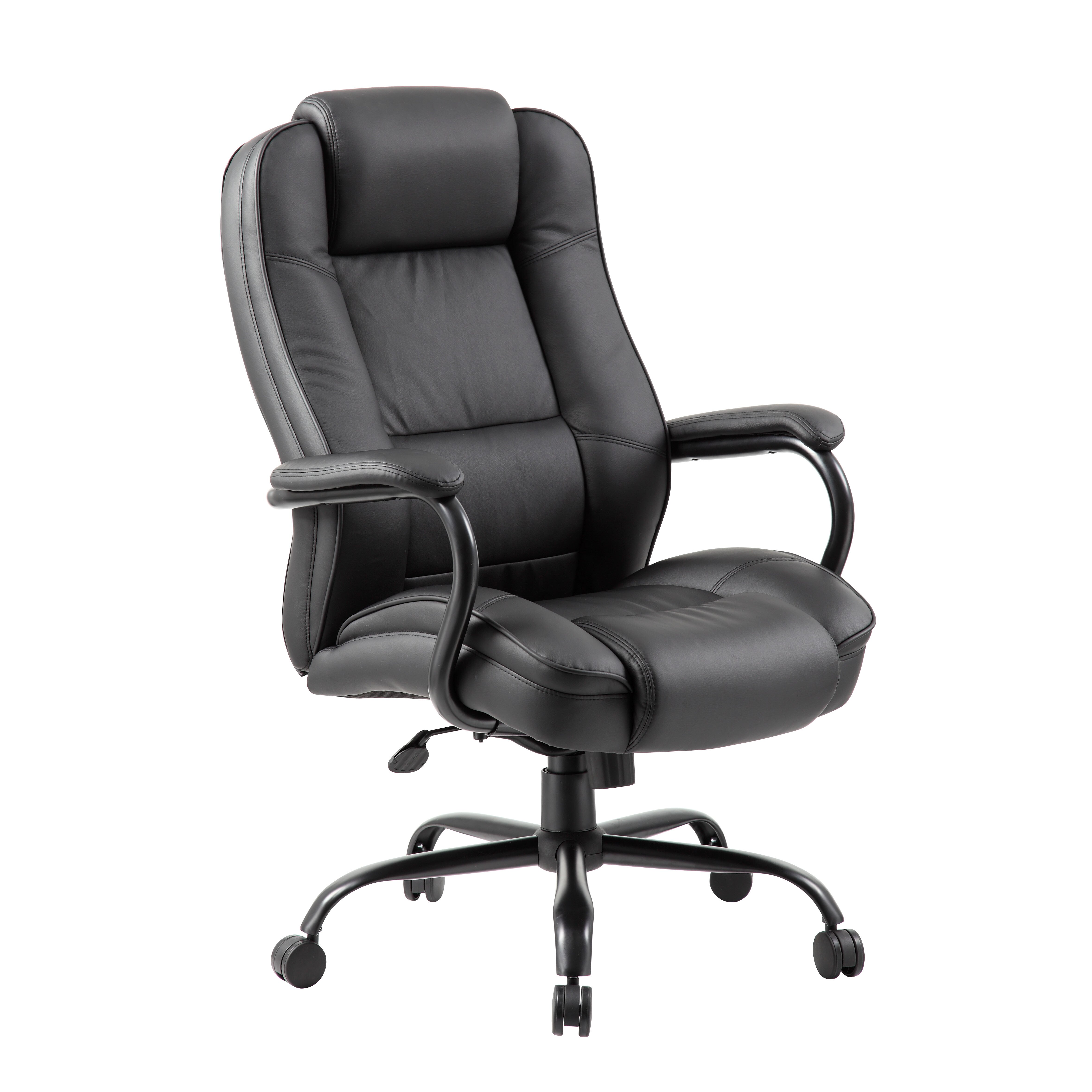Boss Office Products High Back Executive Chair With Arms Reviews Wayfair