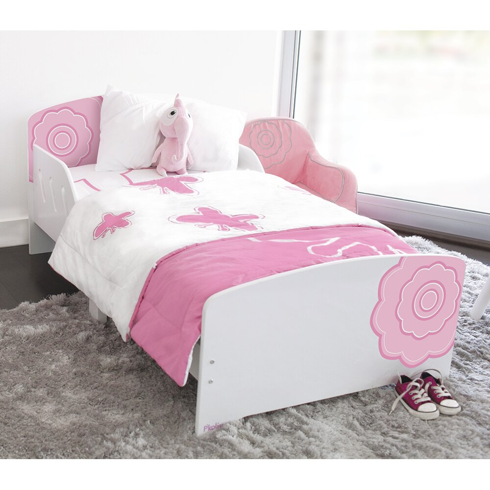 P Kolino Classically Cool Toddler Bed Blossom