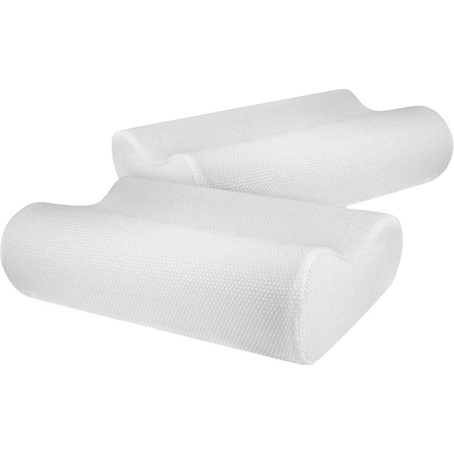 Biopedic contour memory foam standard pillow reviews for Contour memory foam pillow