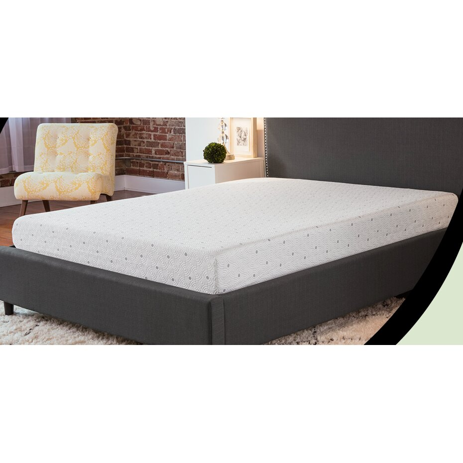 Biopedic 8 memory foam mattress reviews wayfair Mattress sale memory foam