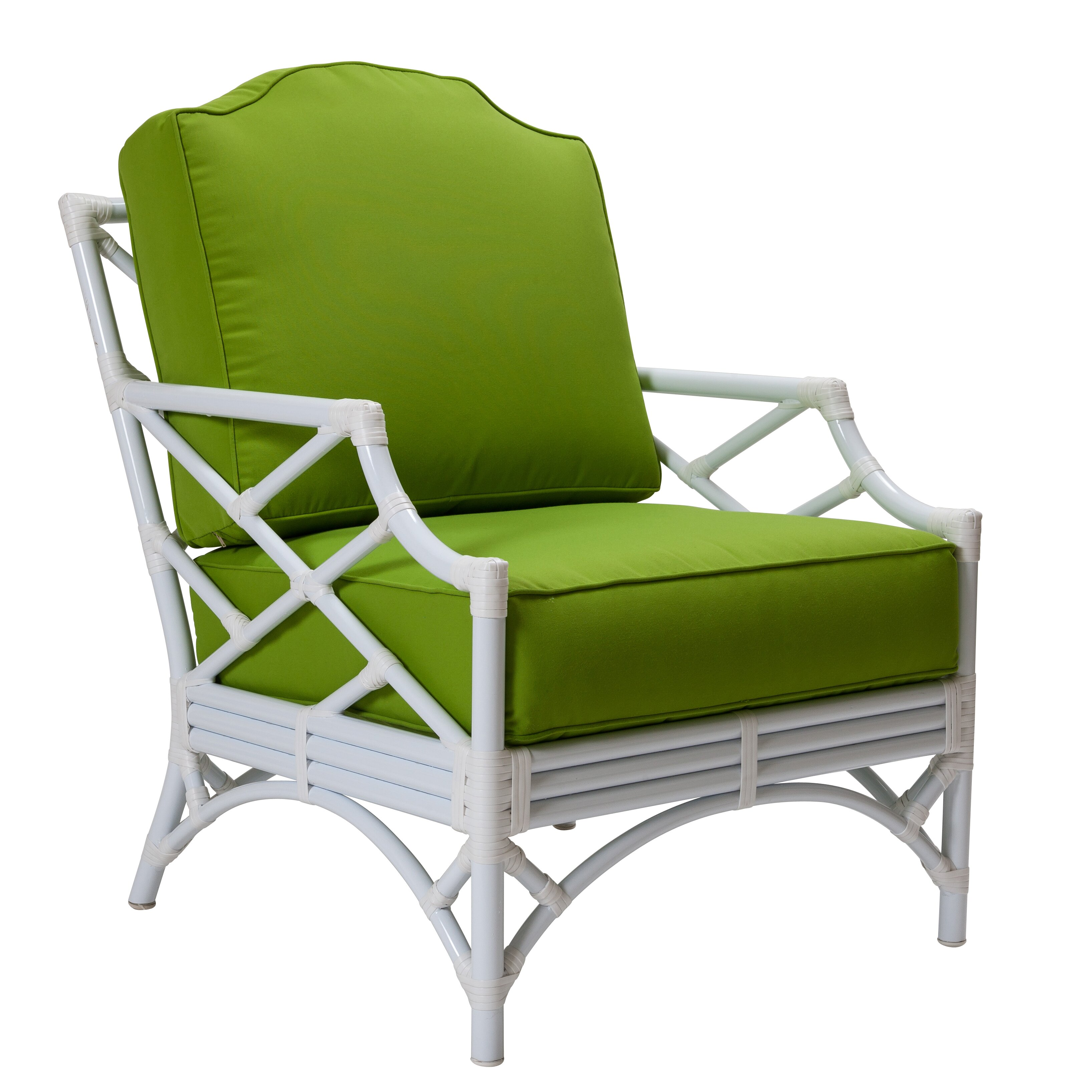 David Francis Furniture Chippendale Lounge Chair with