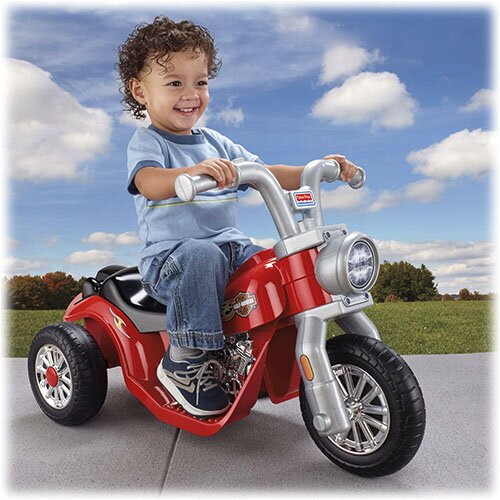 Fisher-Price Power Wheels Harley-Davidson 6V Battery Powered Motorcycle & Reviews | Wayfair