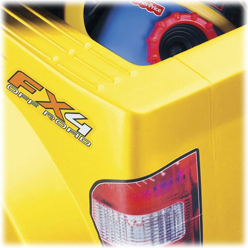 Fisher price power wheels ford f150 pickup 6v battery for Fisher price motorized cars
