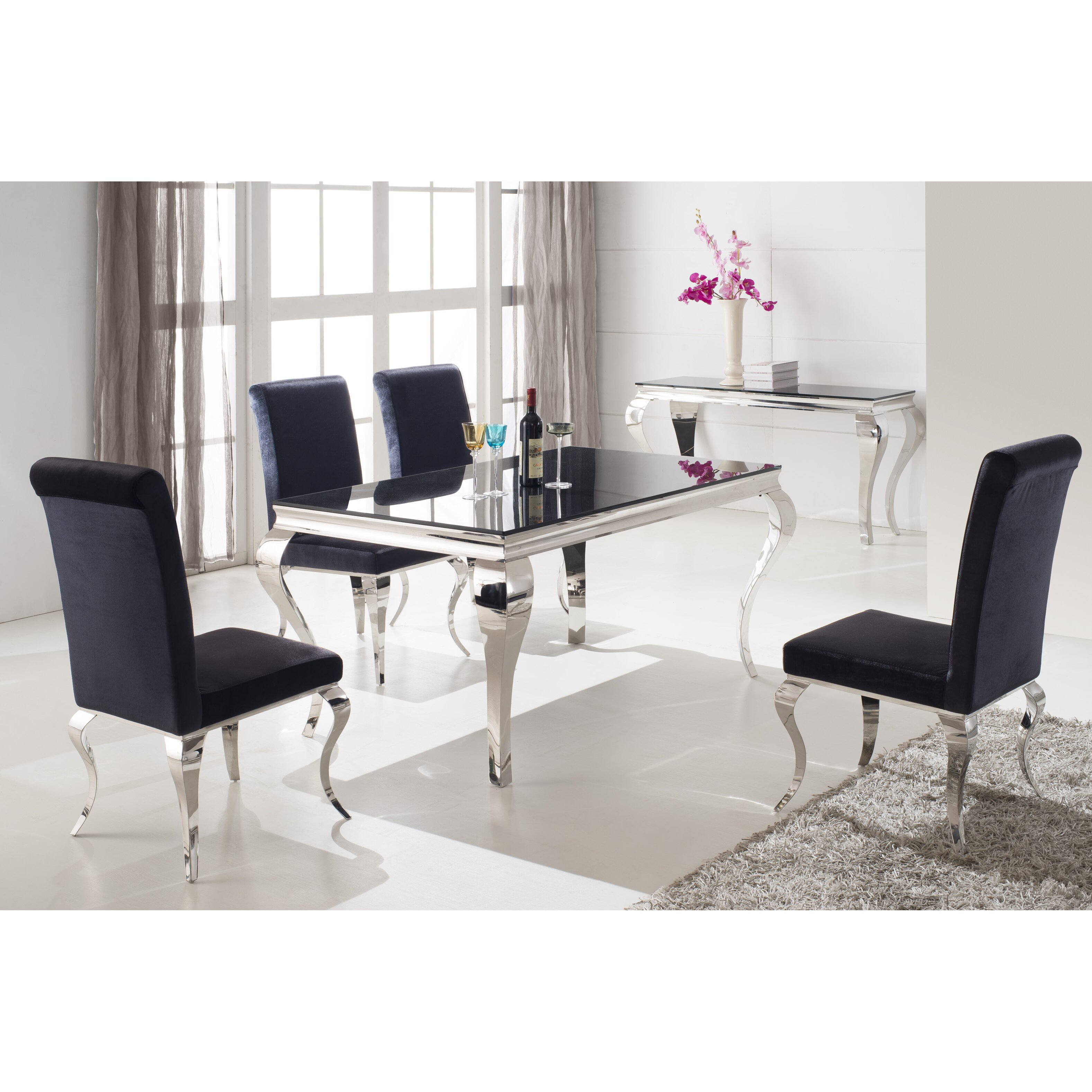 Wilkinson furniture louis dining table reviews wayfair uk