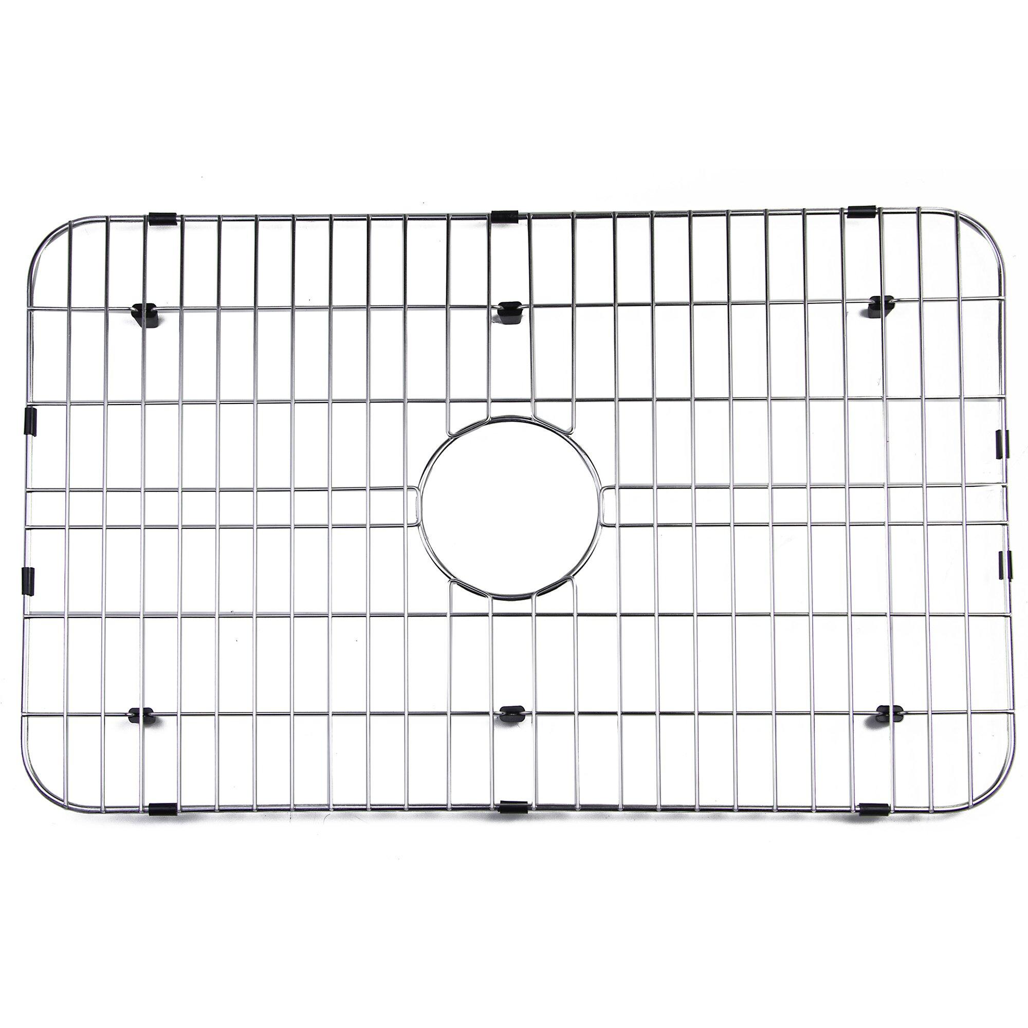 """Kitchen Sink Grid: Alfi Brand 28"""" X 17"""" Kitchen Sink Grid & Reviews"""