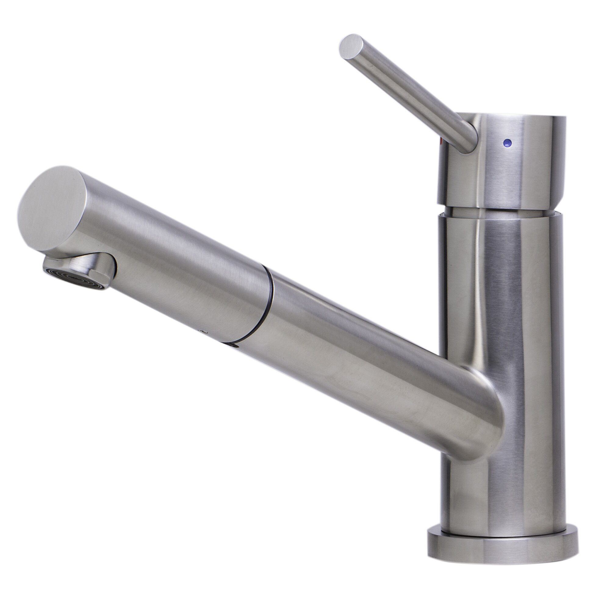 Alfi Brand Single Handle Deck Mount Kitchen Faucet ...