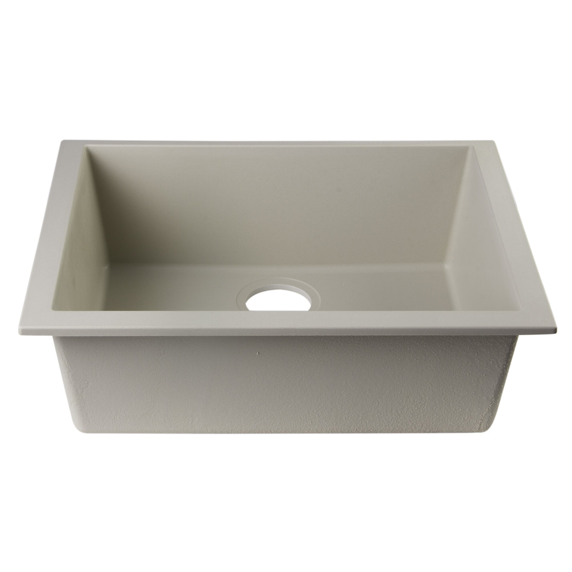 "Alfi Brand 23.63"" X 17.75"" Undermount Single Bowl Kitchen"