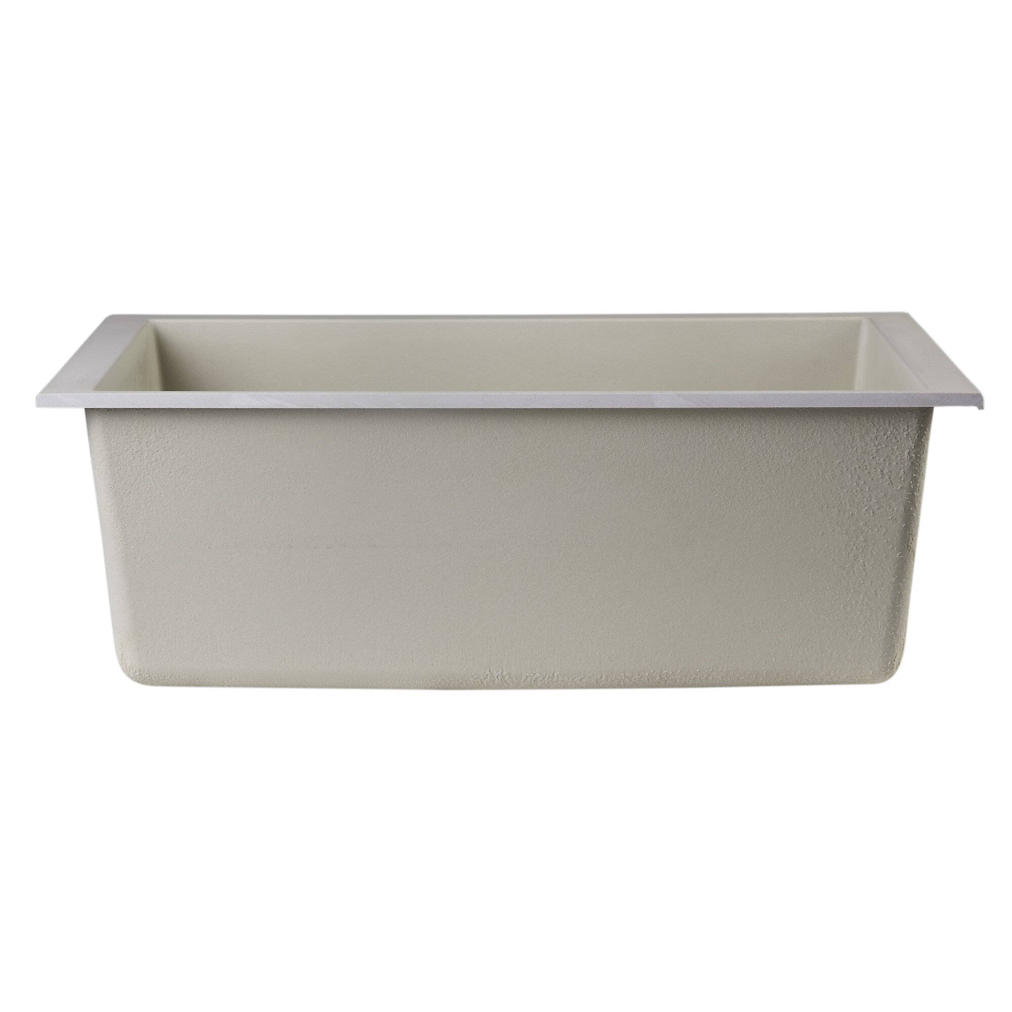 "Alfi Brand 23 63"" x 17 75"" Undermount Single Bowl Kitchen"