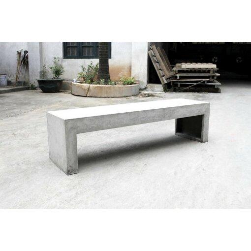 Co9 Design Hoboken Concrete Bench Reviews Wayfair