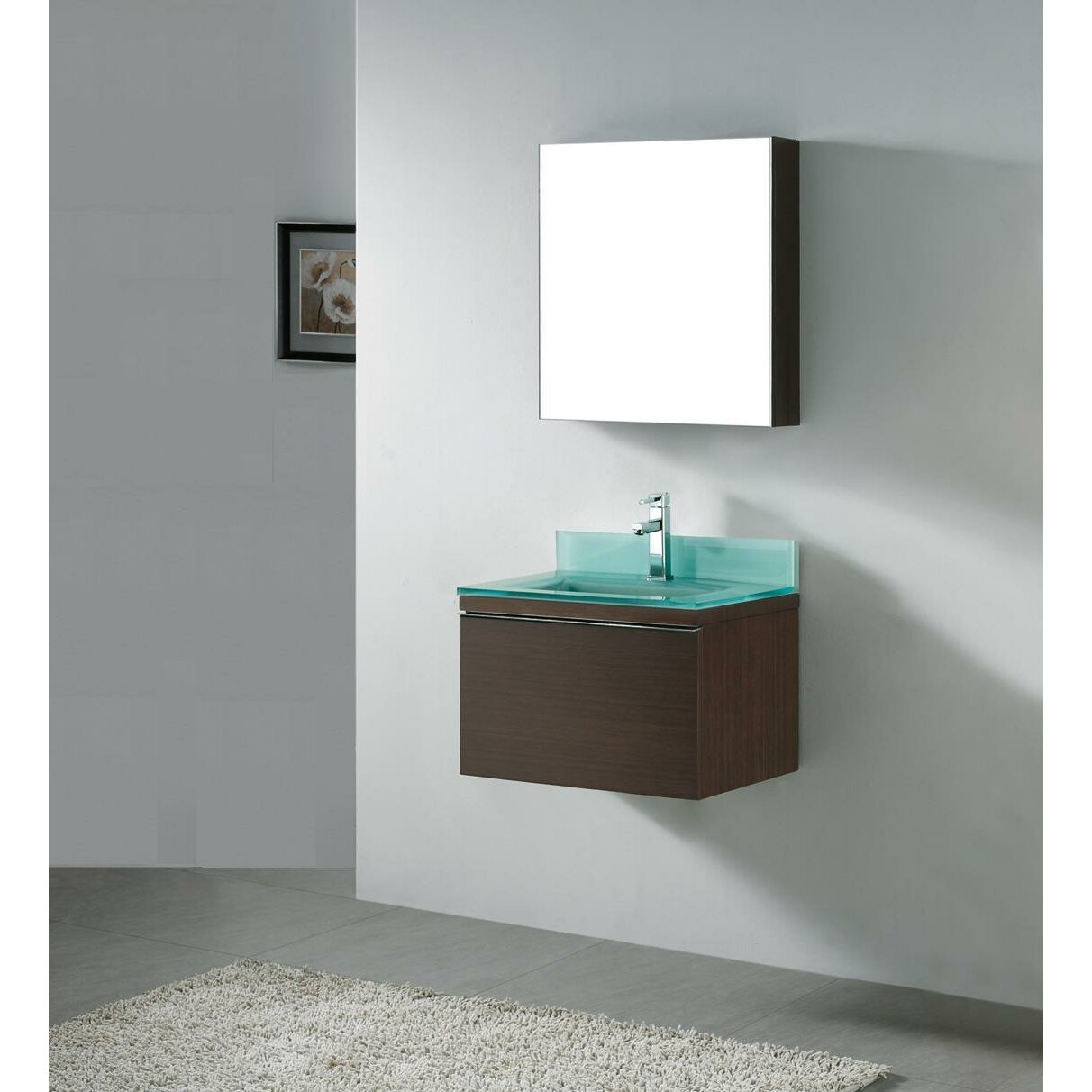 Madeli Venasca Wall Mount Bathroom Vanity Base