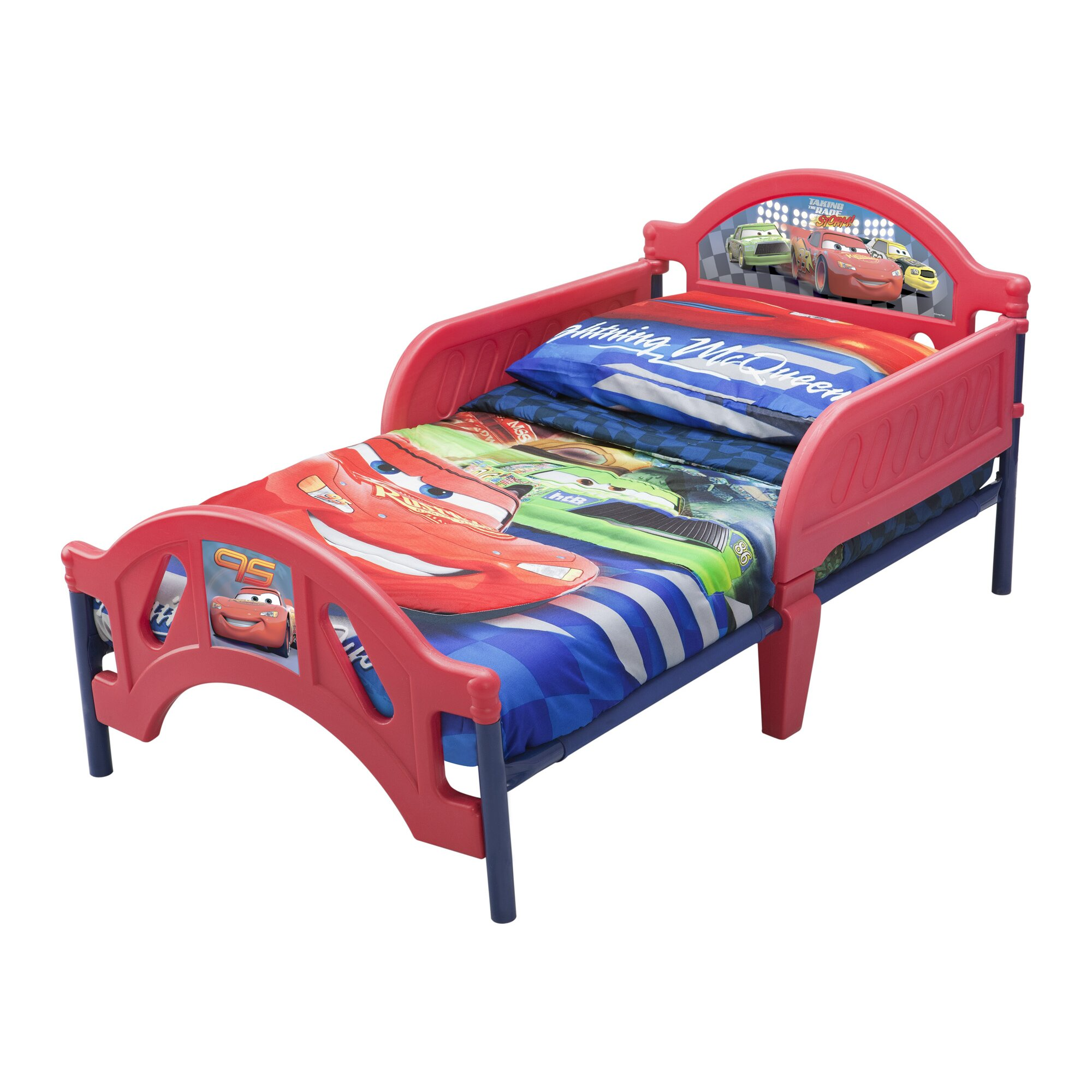 Disney Pixar Cars Plastic Toddler Bed Amp Reviews