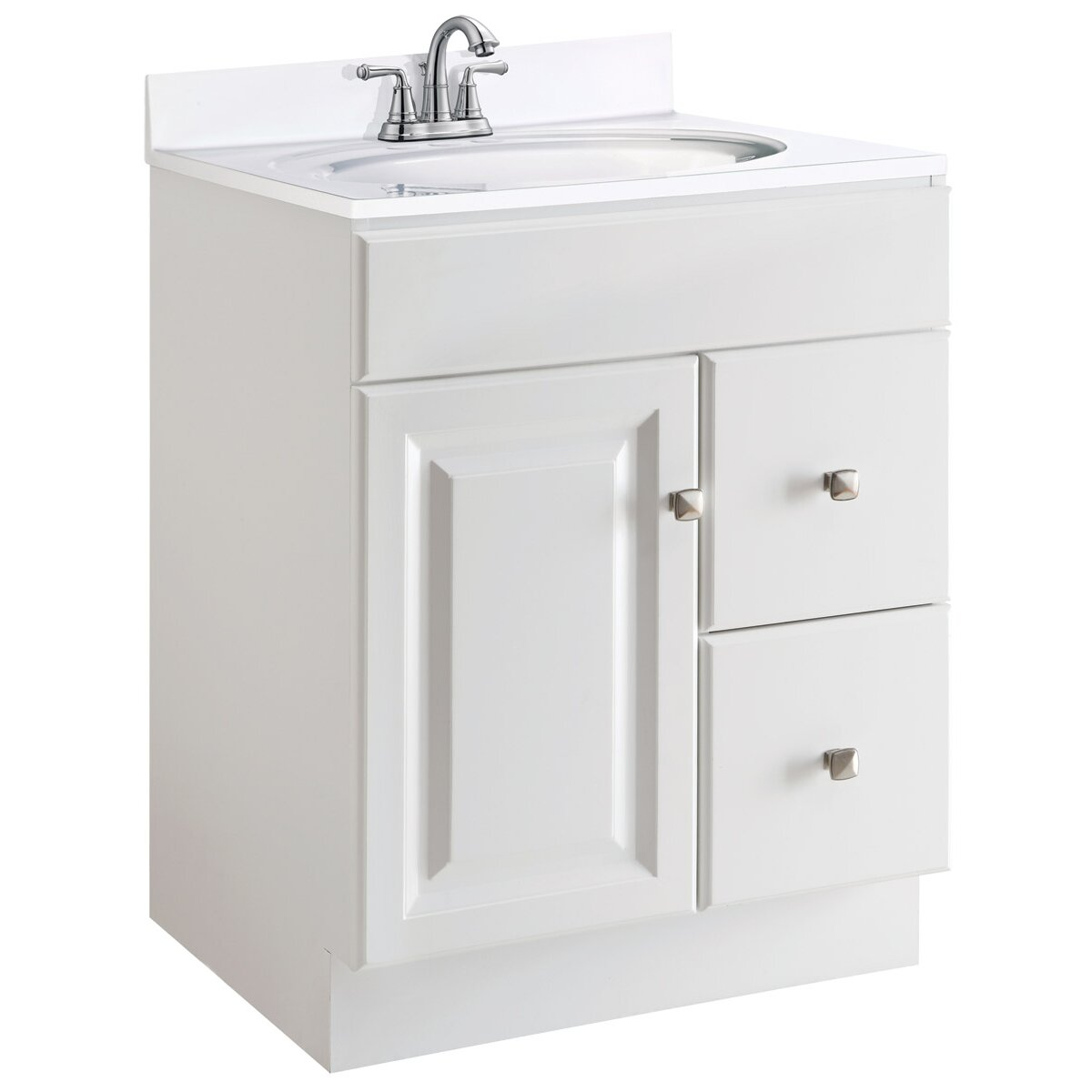 Design House Wyndham 24 Vanity Base Reviews Wayfair Supply