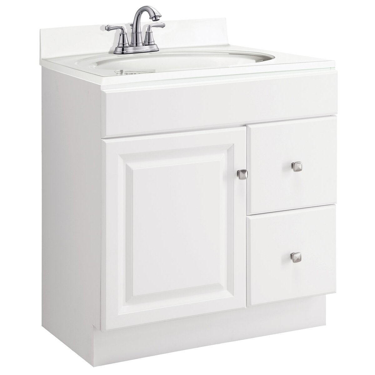 "Design House Wyndham 30"" Single Bathroom Vanity Base"
