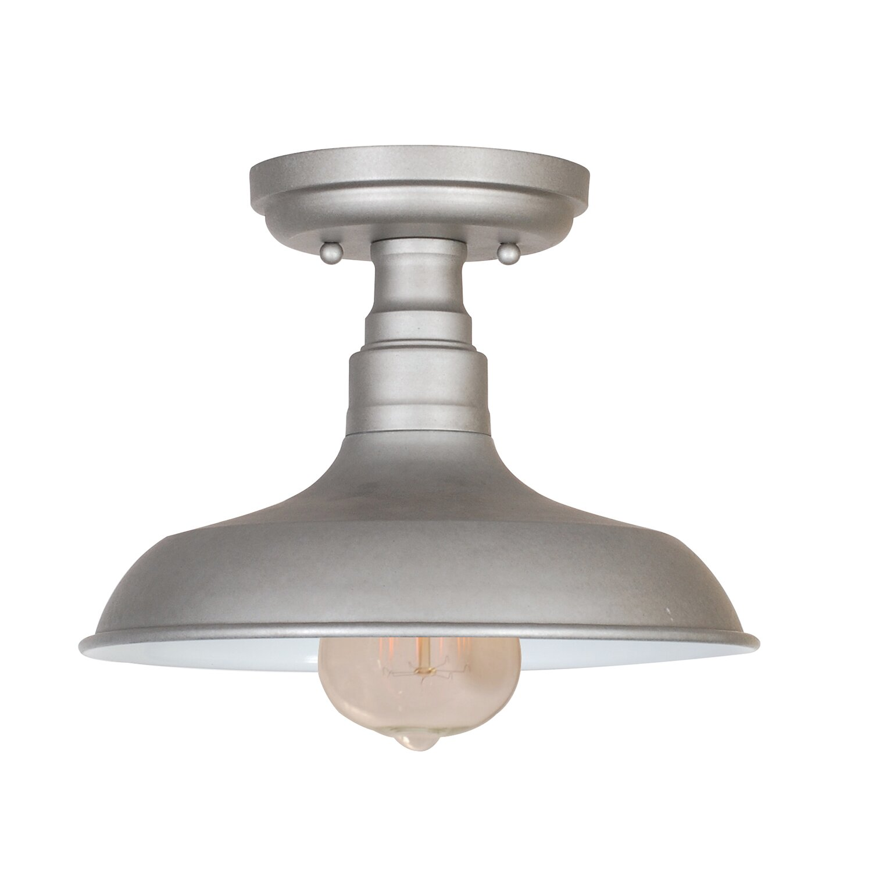 Design house kimball 1 light semi flush mount reviews Flush mount lighting