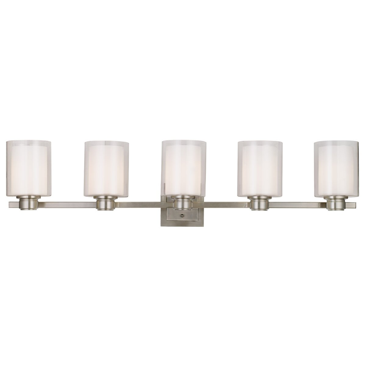Design House Oslo 5 Light Vanity Light & Reviews