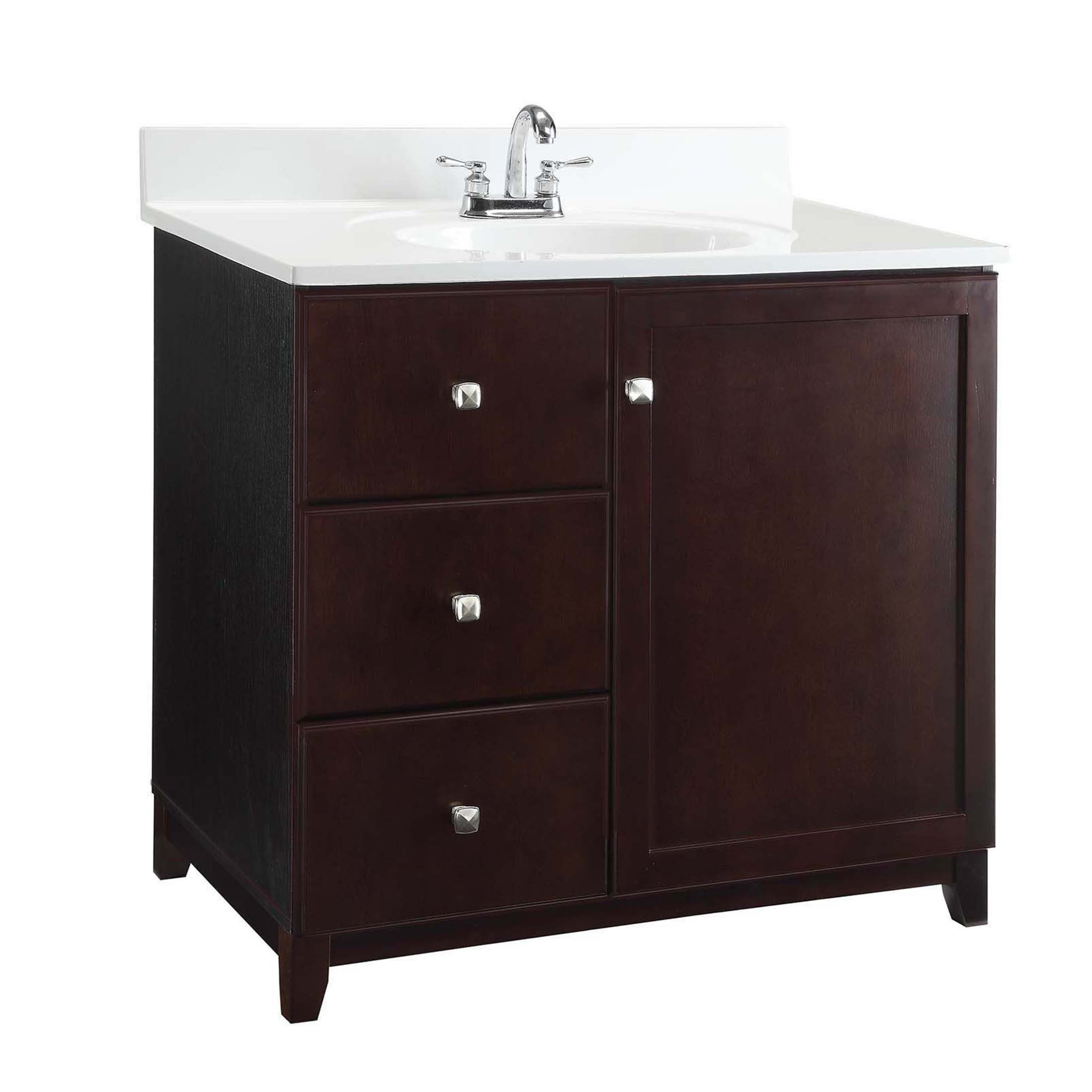Design house 23 vanity cabinet wayfair - Wayfair furniture bathroom vanities ...