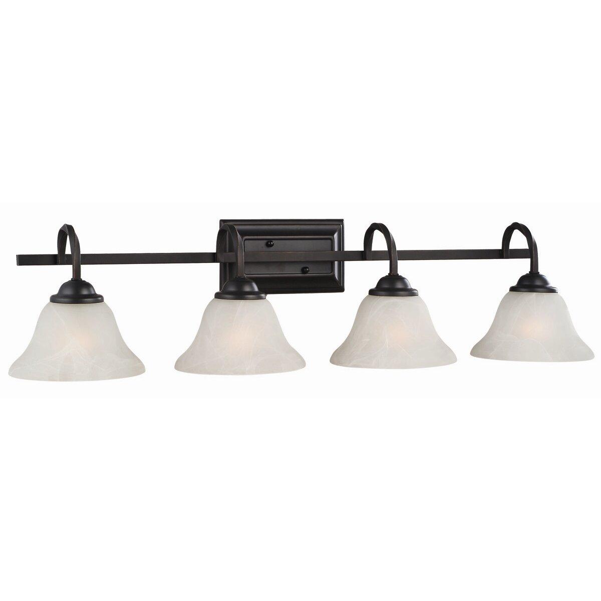 Design House Drake 4 Light Vanity Light & Reviews Wayfair