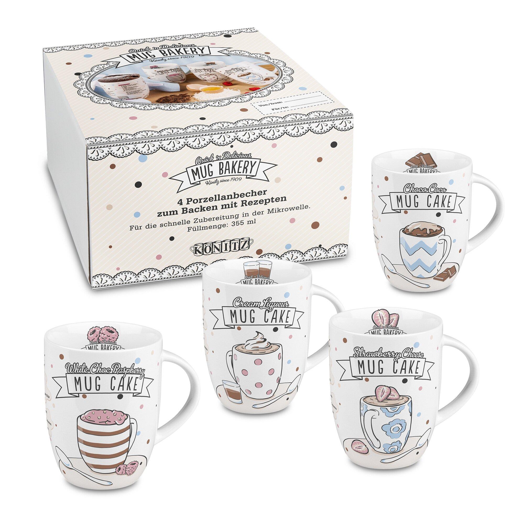 Konitz 4 Piece Bakery Mug Set Amp Reviews Wayfair