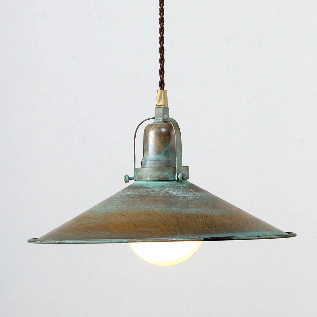 Lustrarte Lighting Rustic DAvo 1 Light Large Pendant