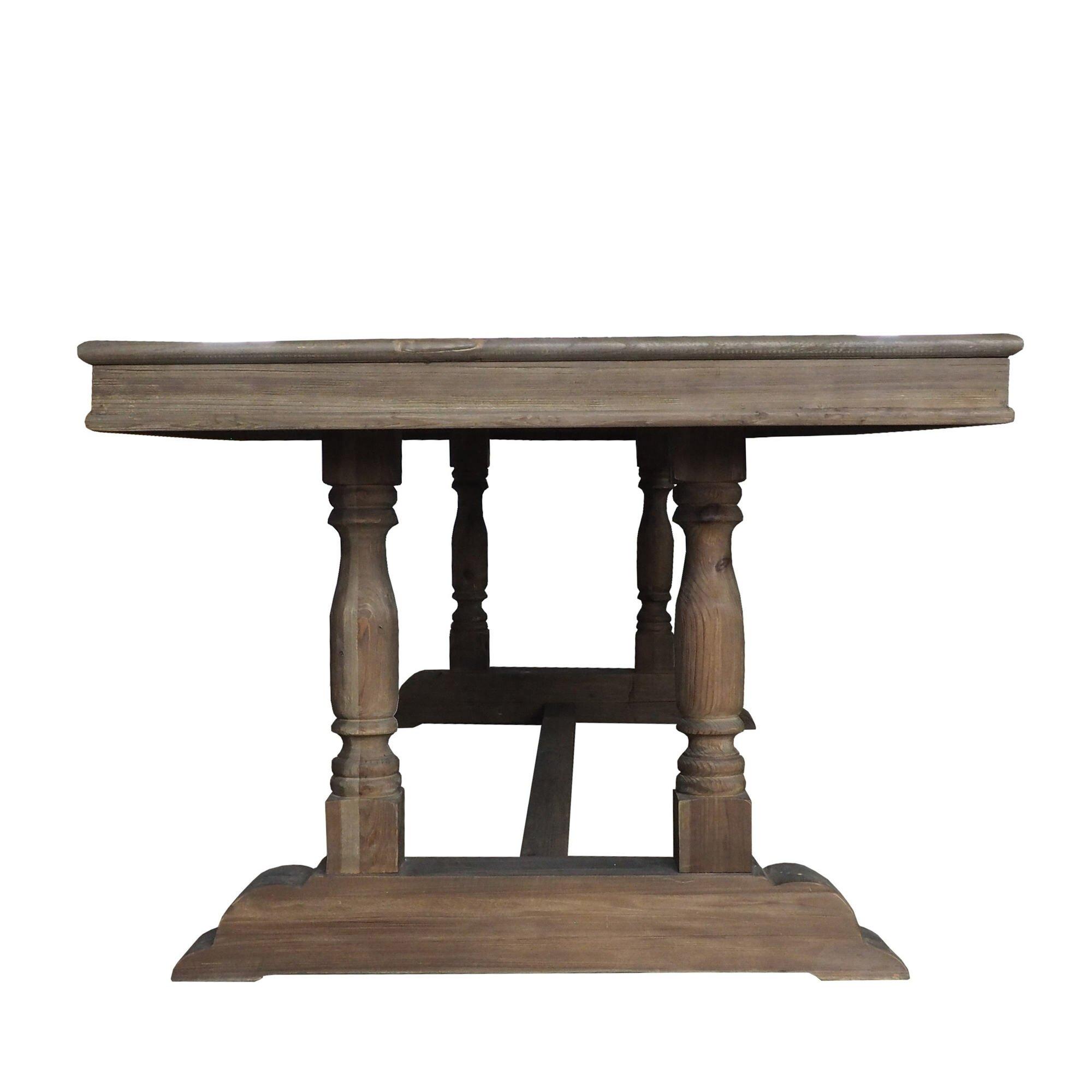 Moti furniture syracuse dining table wayfair for Wayfair furniture dining tables