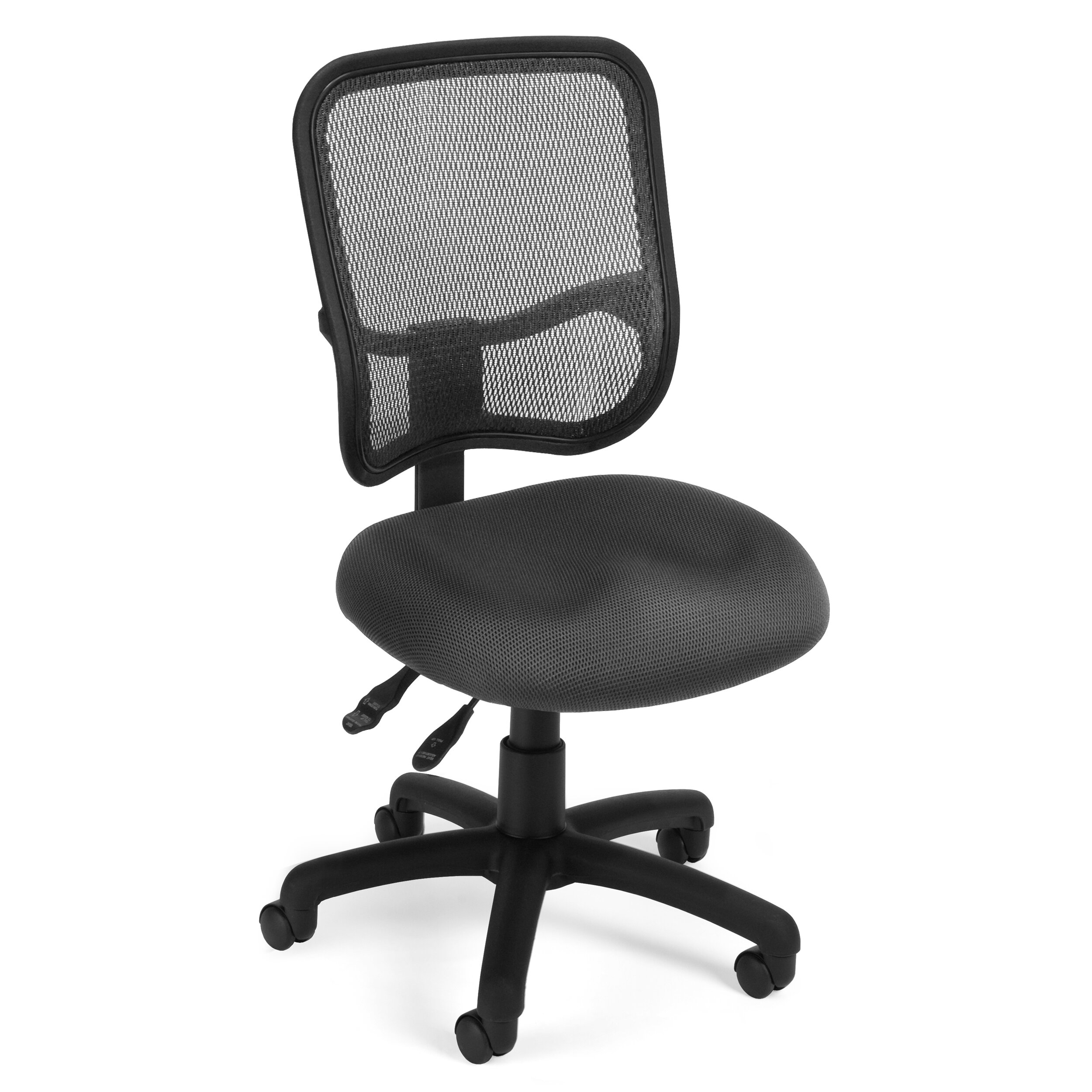 OFM Ergonomic Mid Back Mesh Desk Chair & Reviews