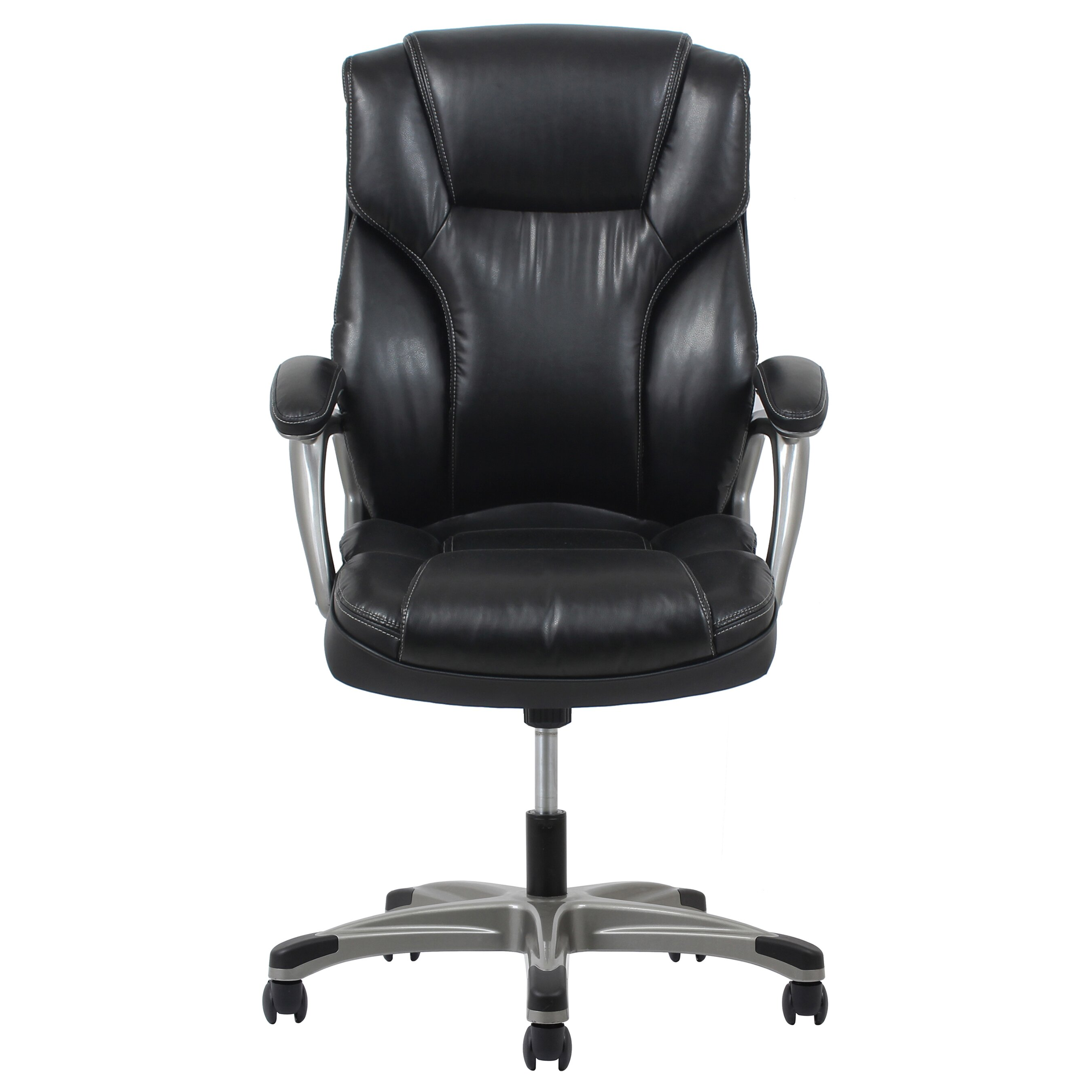 Ofm ergonomic high back leather executive office chair for High back leather chairs