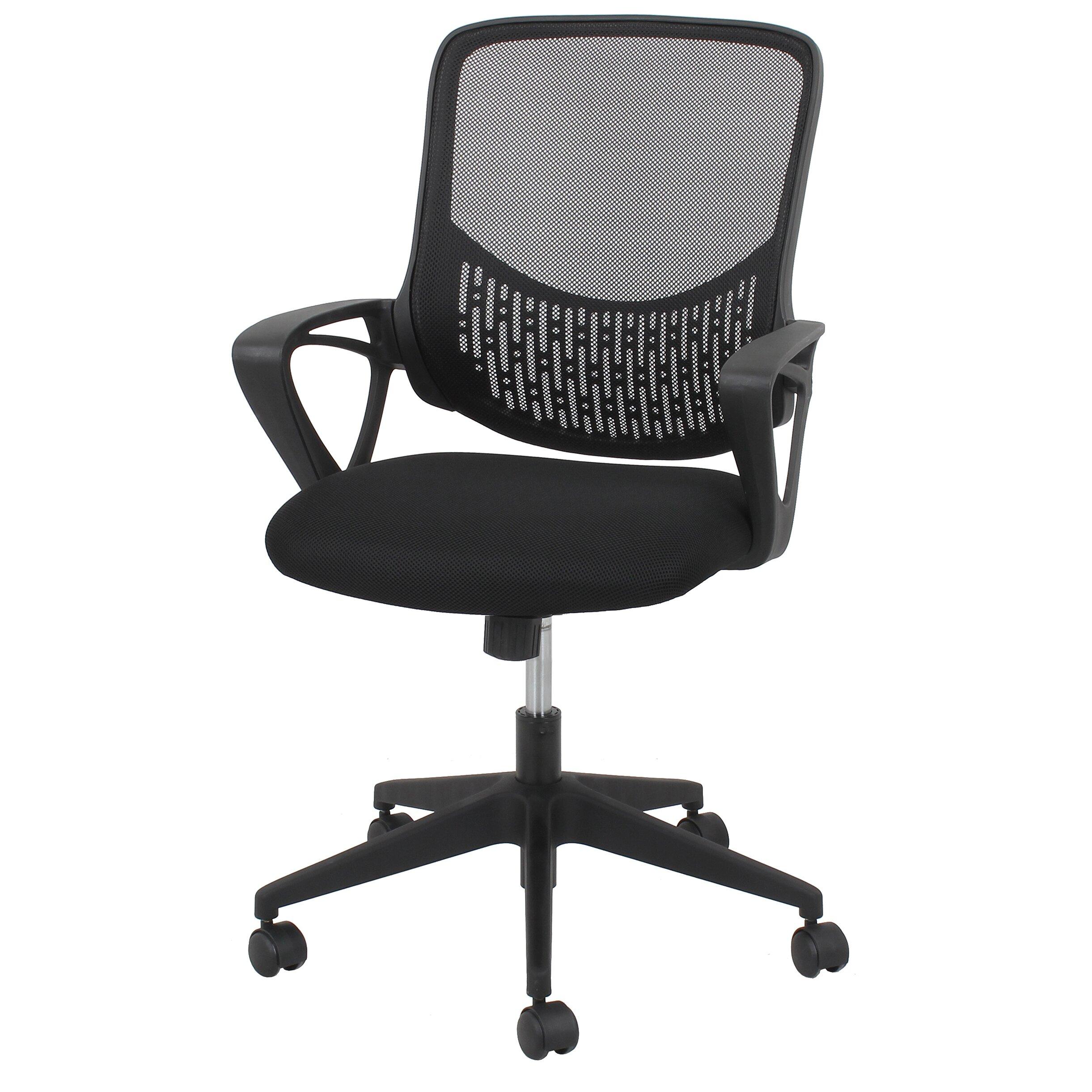 OFM Essentials Mid Back Mesh Desk Chair