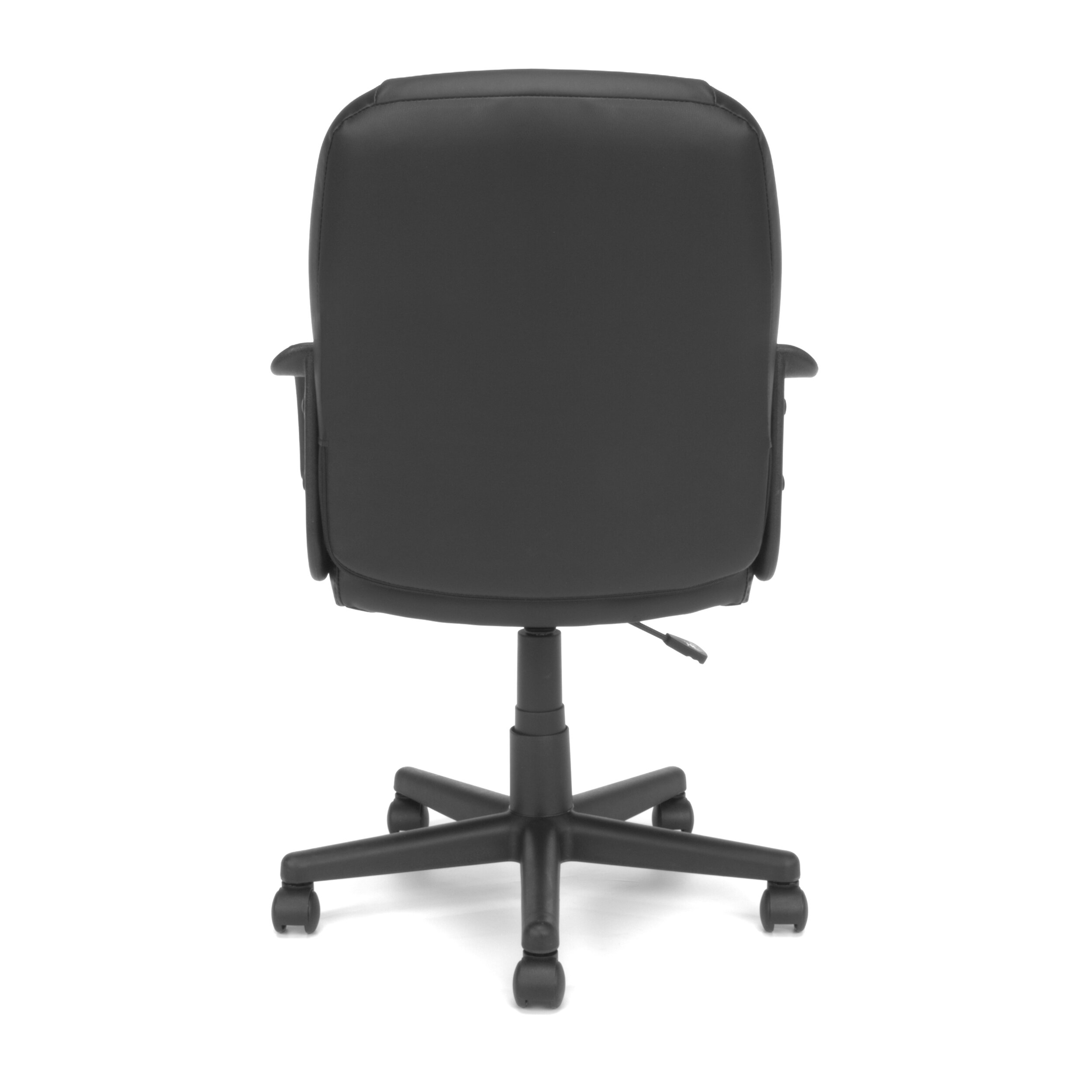 OFM Essentials Mid Back Leather Executive Office Chair Reviews Wayfair