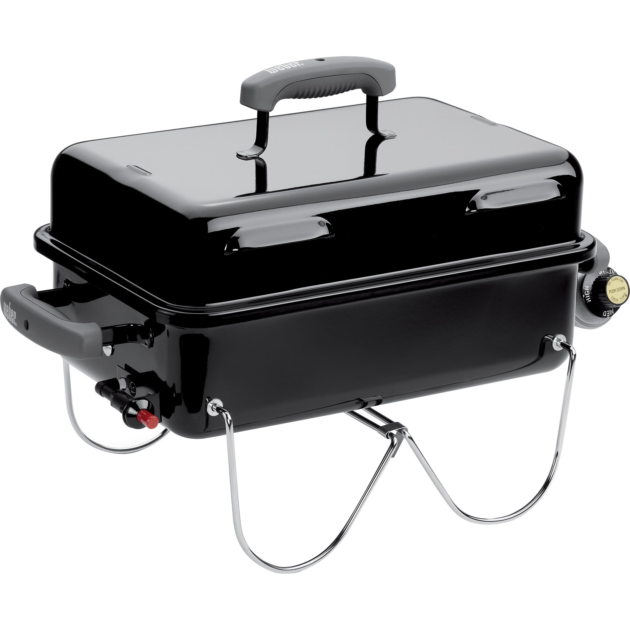 weber go anywhere portable gas grill reviews wayfair. Black Bedroom Furniture Sets. Home Design Ideas