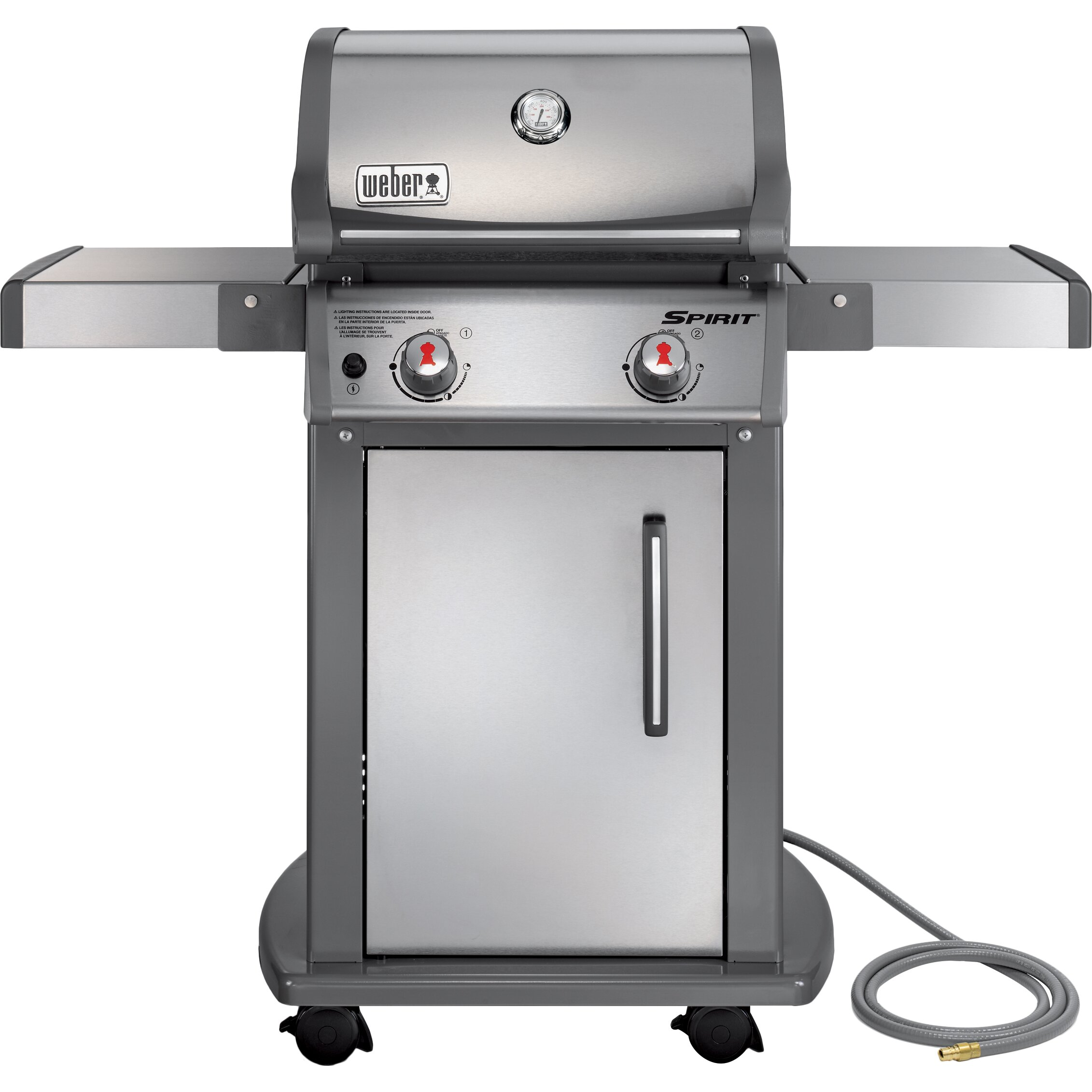 weber spirit s 210 natural gas grill reviews wayfair. Black Bedroom Furniture Sets. Home Design Ideas