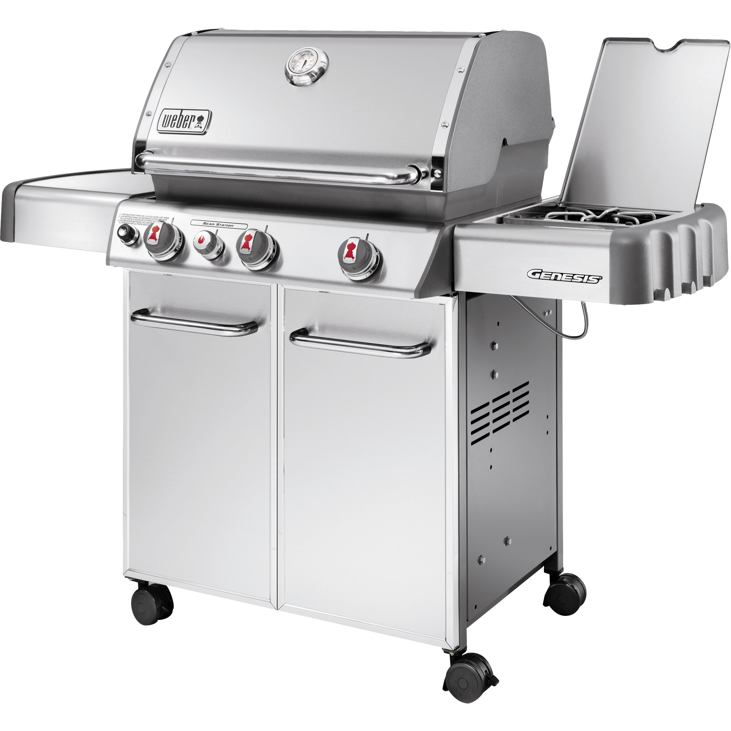 weber genesis s 330 gas grill reviews wayfair. Black Bedroom Furniture Sets. Home Design Ideas