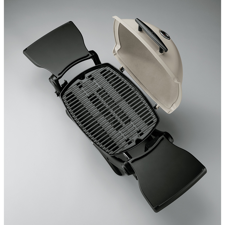 weber q series 1200 lp titanium portable gas grill. Black Bedroom Furniture Sets. Home Design Ideas