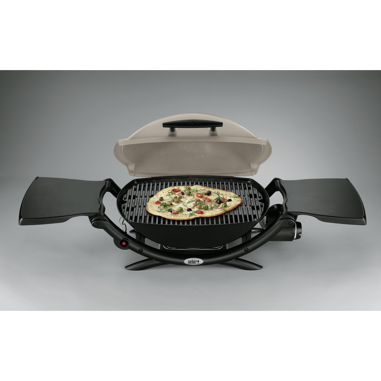 weber q series 2000 lp titanium portable gas grill. Black Bedroom Furniture Sets. Home Design Ideas
