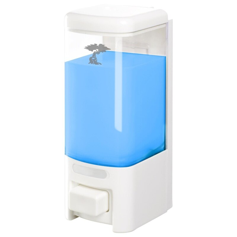 Toilet tree products plastic shampoo soap dispenser for Bathroom accessories plastic