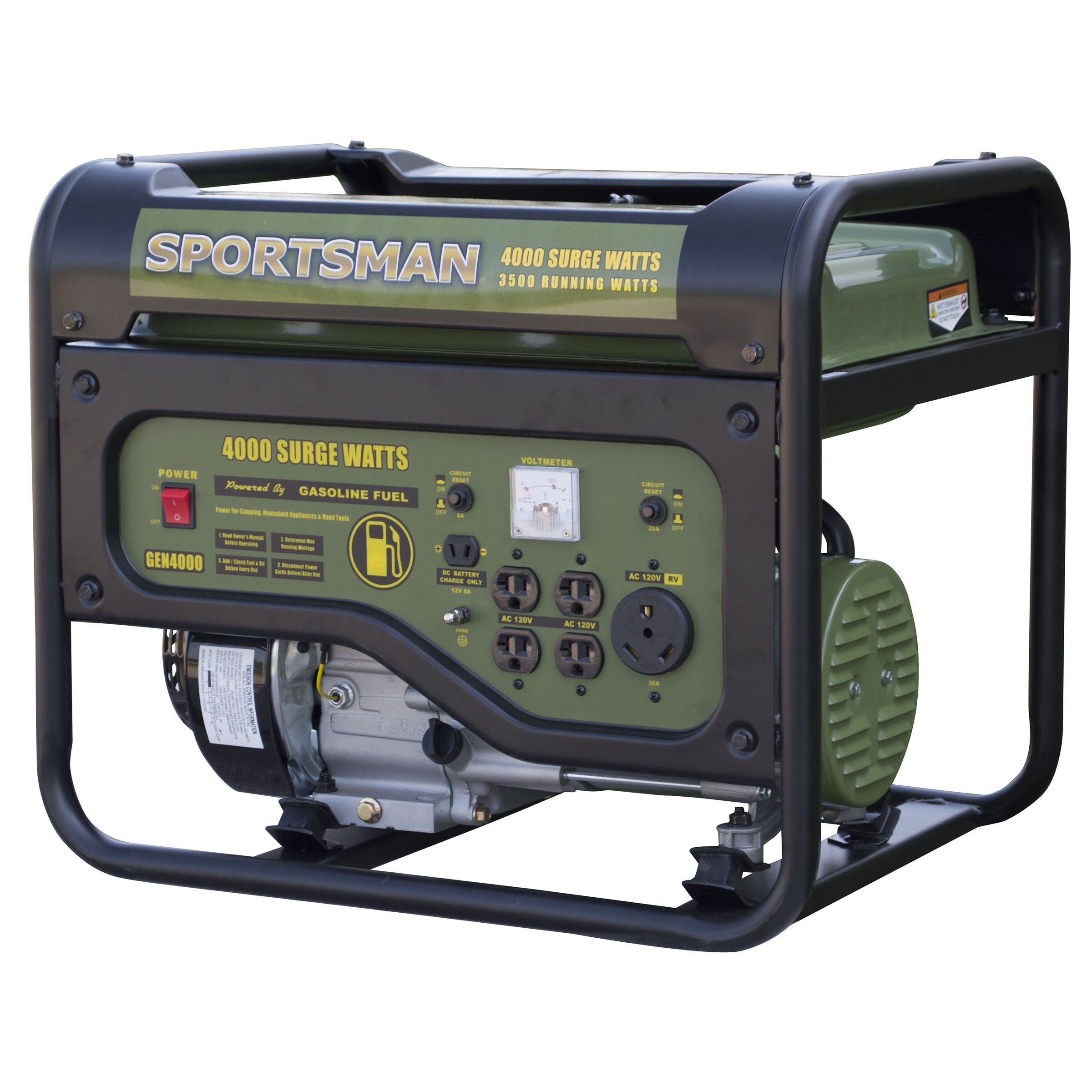 Sportsman 4000 Watt CARB Portable Gasoline Generator | Wayfair.ca