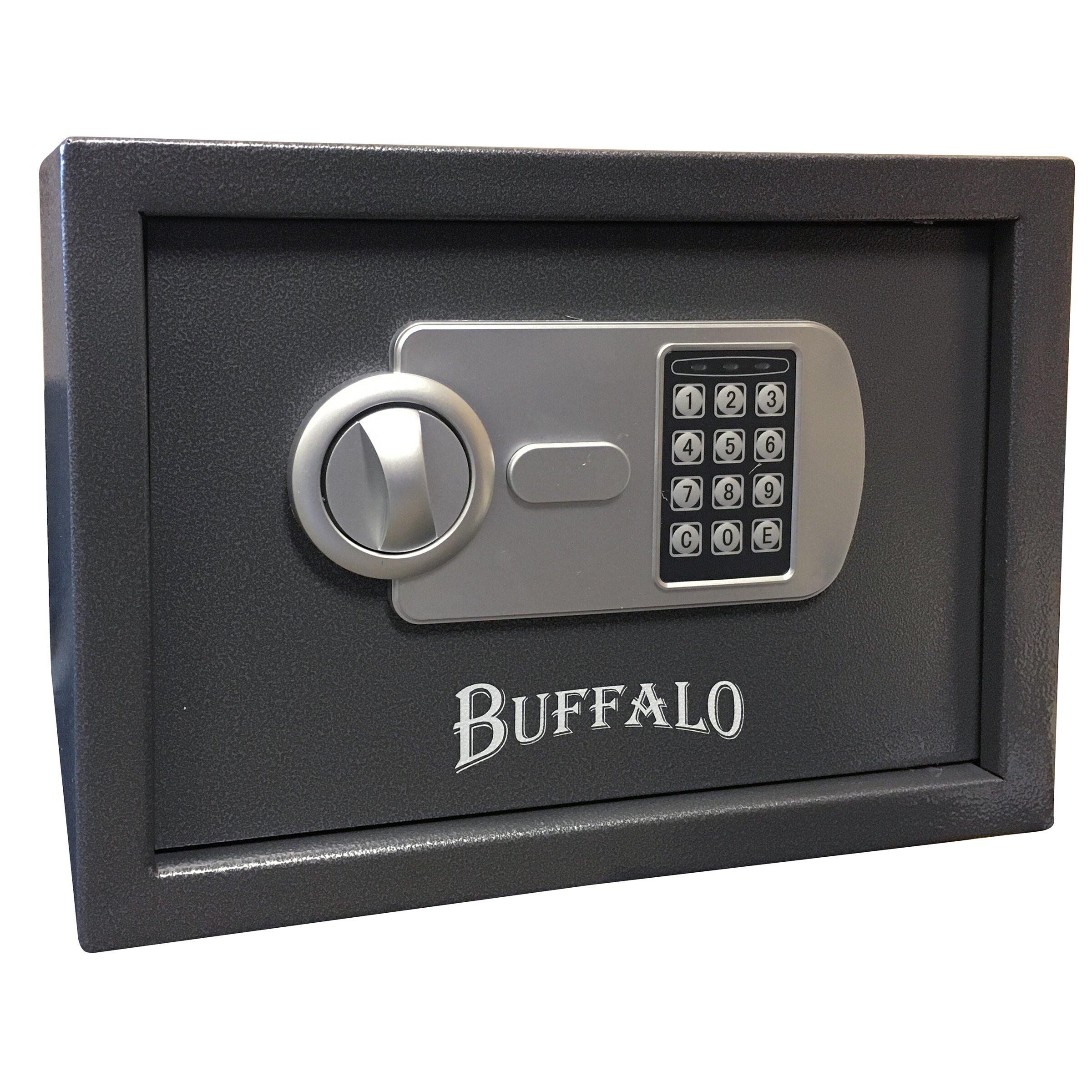 Sportsman Buffalo Outdoor Pistol Key Lock Safe Box
