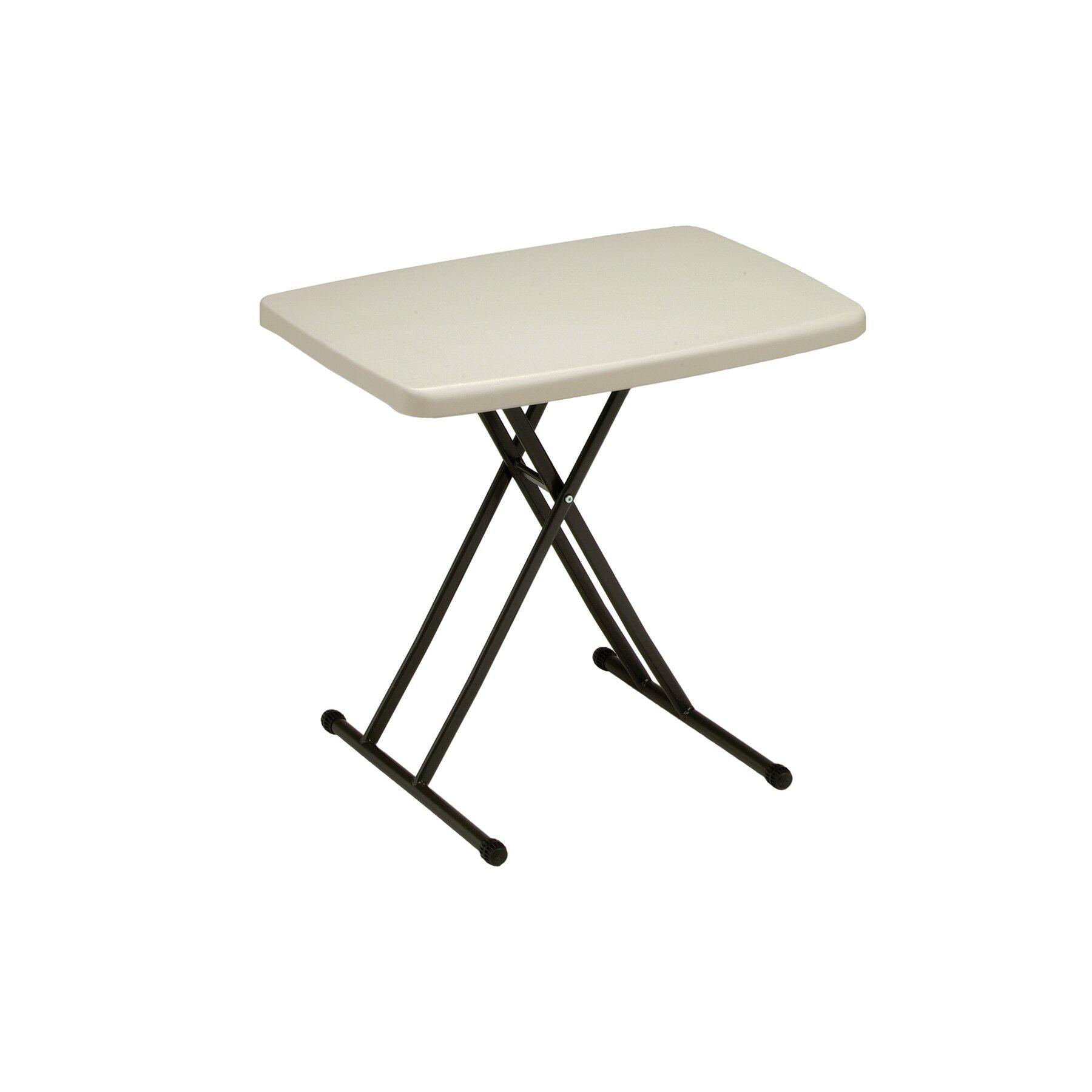 Meco 30 Quot Rectangular Folding Table Amp Reviews Wayfair