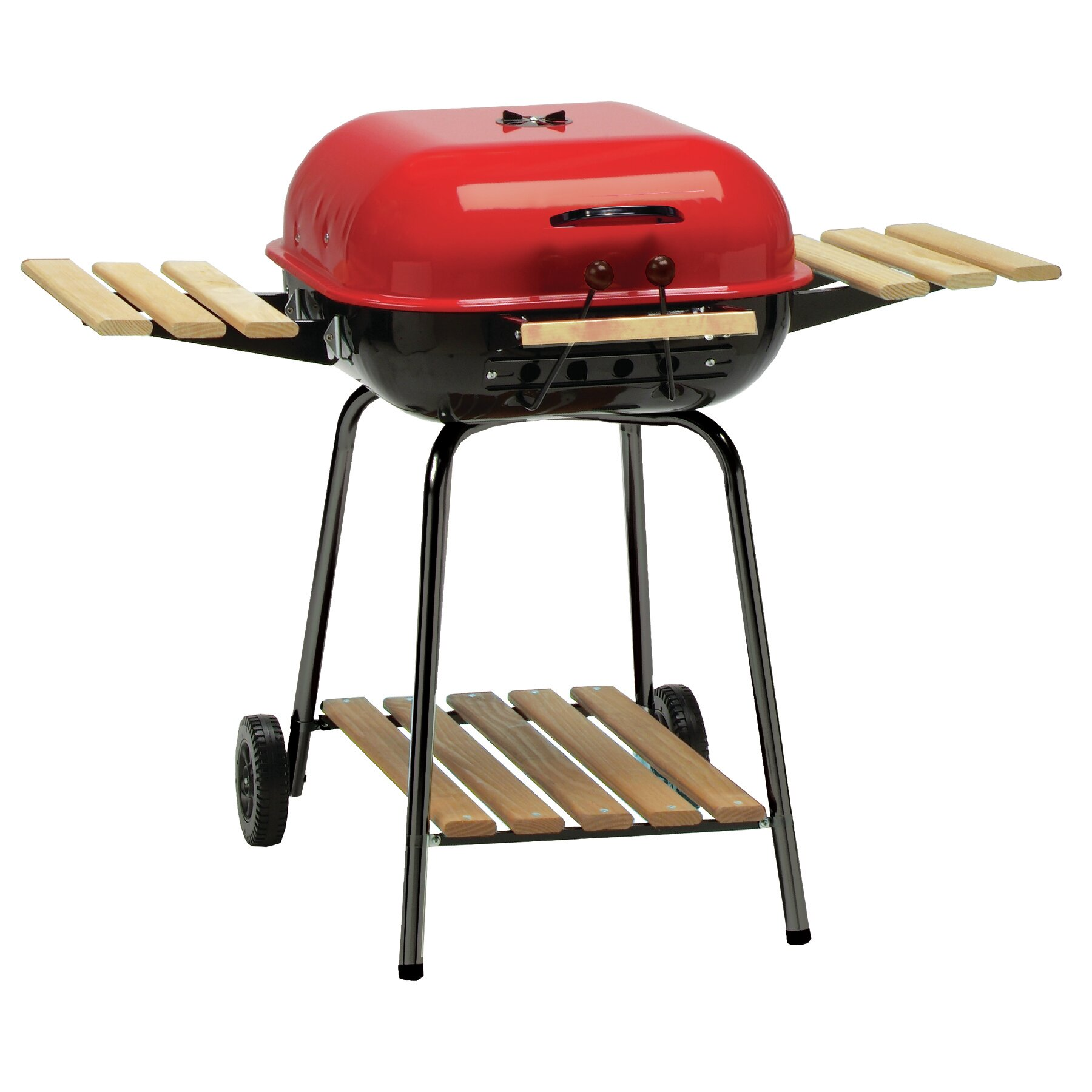 Meco Swinger Portable Charcoal Grill Wayfair