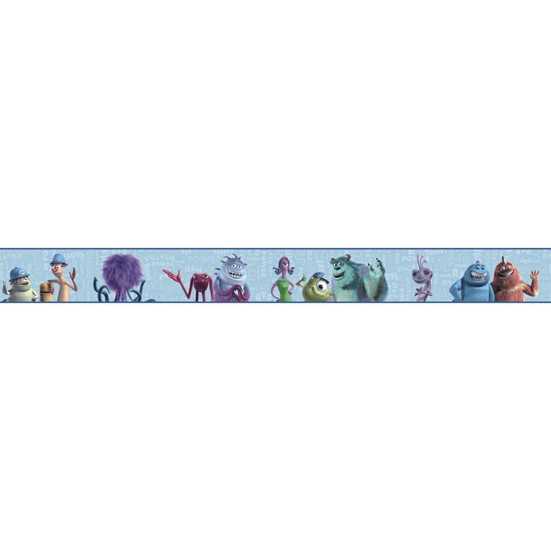 York wallcoverings walt disney kids ii 9 quot monsters inc border