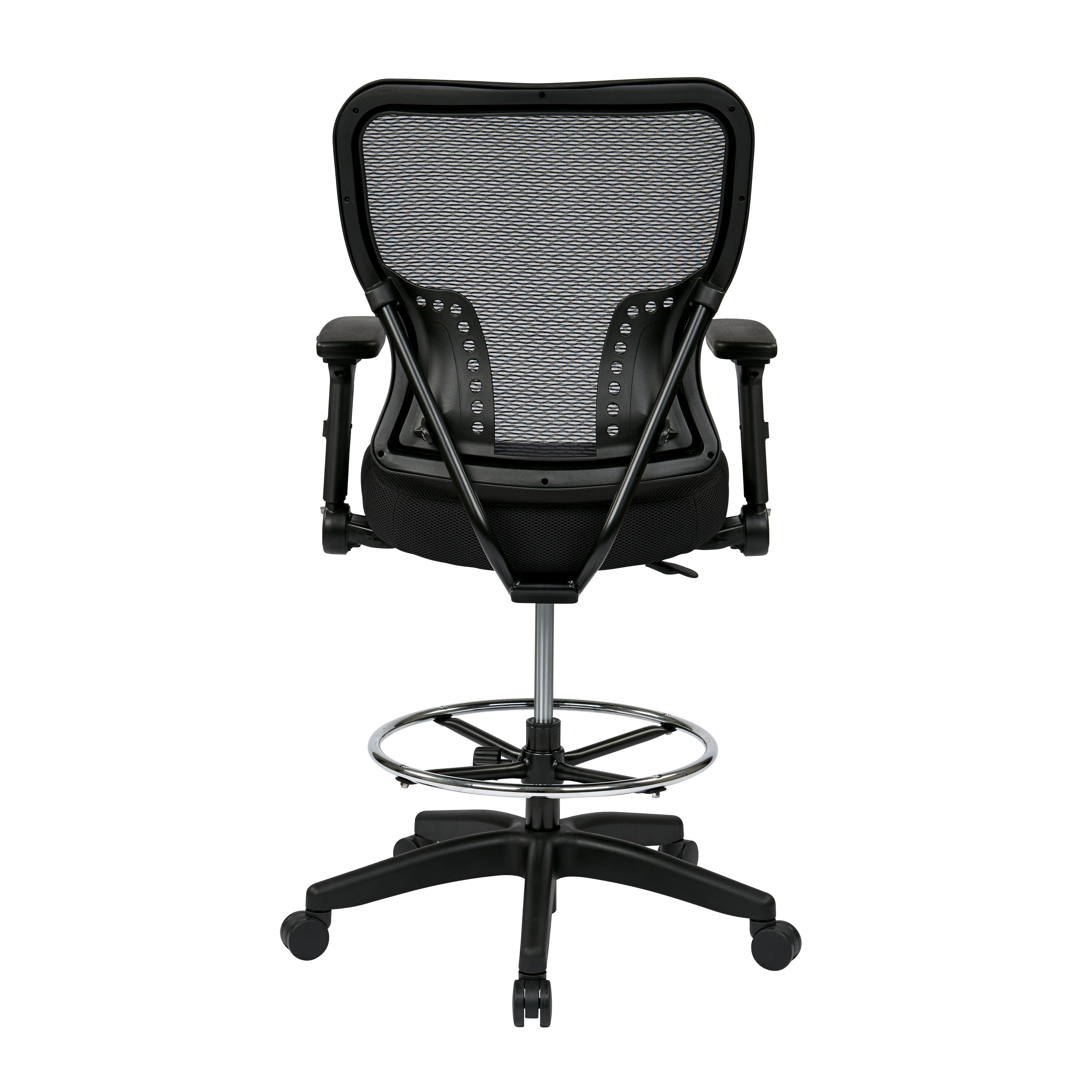 Office Star Space Mid Back Mesh Drafting Chair Reviews Wayfair