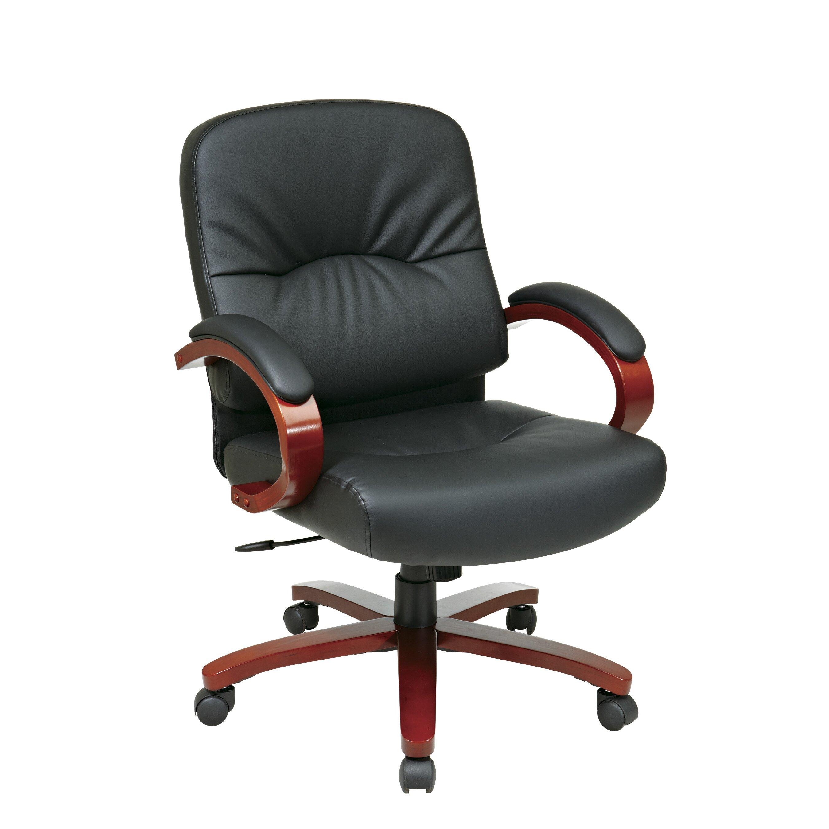 Office Star Mid Back Executive Chair Reviews Wayfair