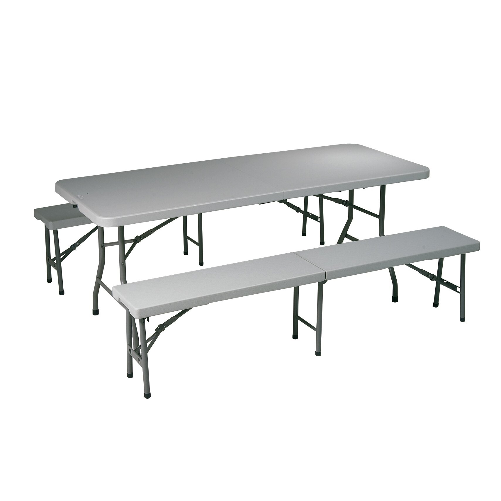 Office Star Folding Picnic Table And Bench Reviews Wayfair Supply