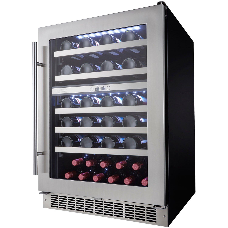 Danby Silhouette 51 Bottle Dual Zone Built In Wine