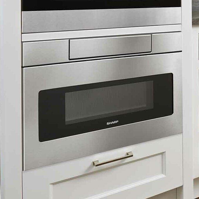 Sharp 12 Cu Ft 1000W Microwave Drawer amp Reviews Wayfair : 12 Cu Ft 1000W Microwave Drawer SMD3070AS from www.wayfair.com size 677 x 677 jpeg 64kB