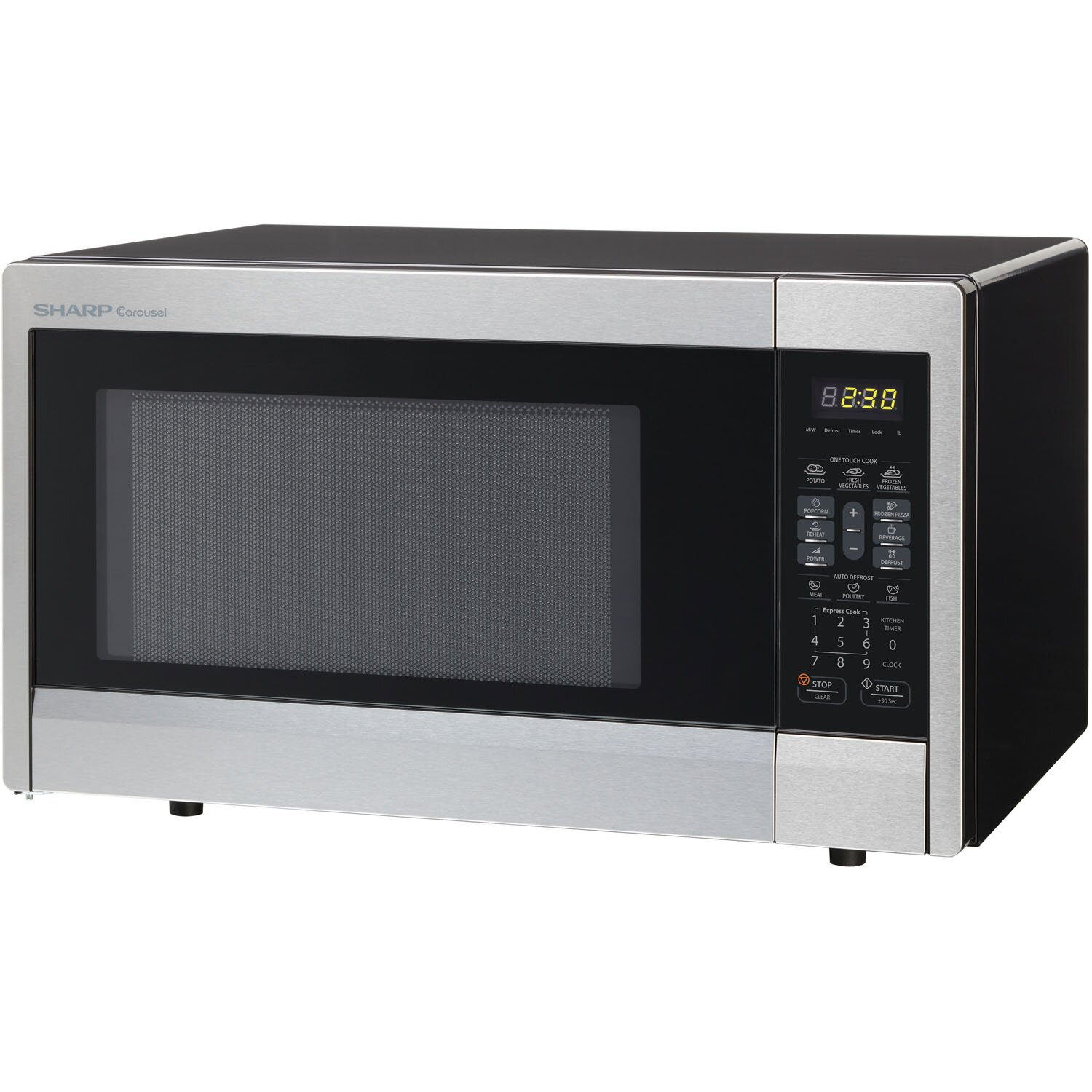 First Countertop Microwave : Sharp 1.1 Cu. Ft. 1000W Countertop Microwave & Reviews Wayfair
