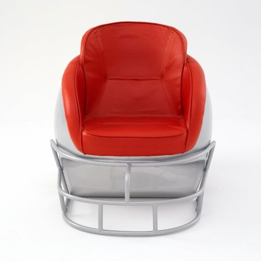 head ncaa ohio state university football helmet leather lounge chair chatwin lounge chair lounge